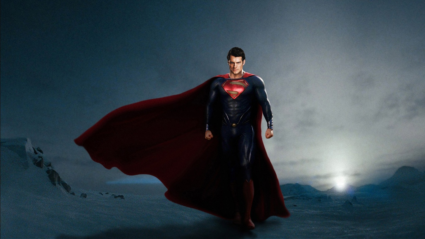 group of 1366 x 768 superman 3d wallpaper