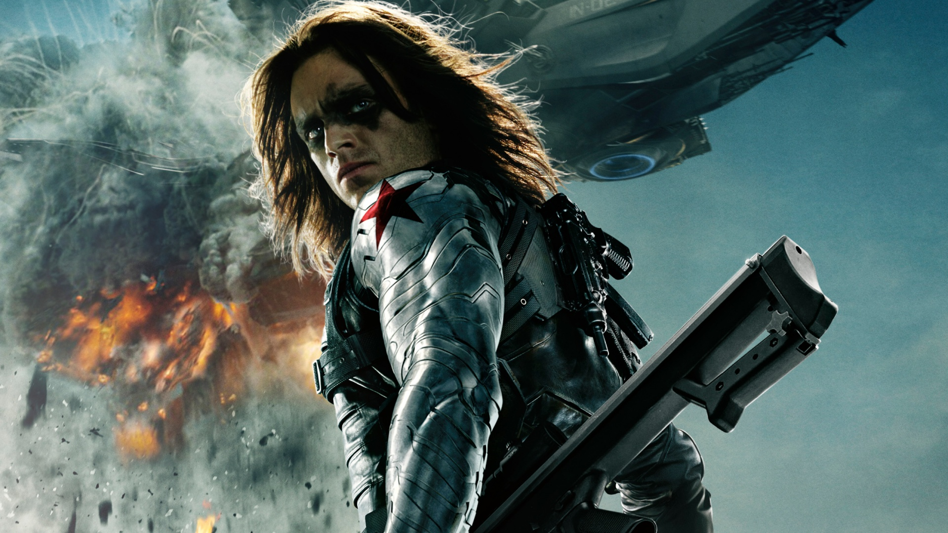 Black Widow Captain America The Winter Soldier wallpapers ...