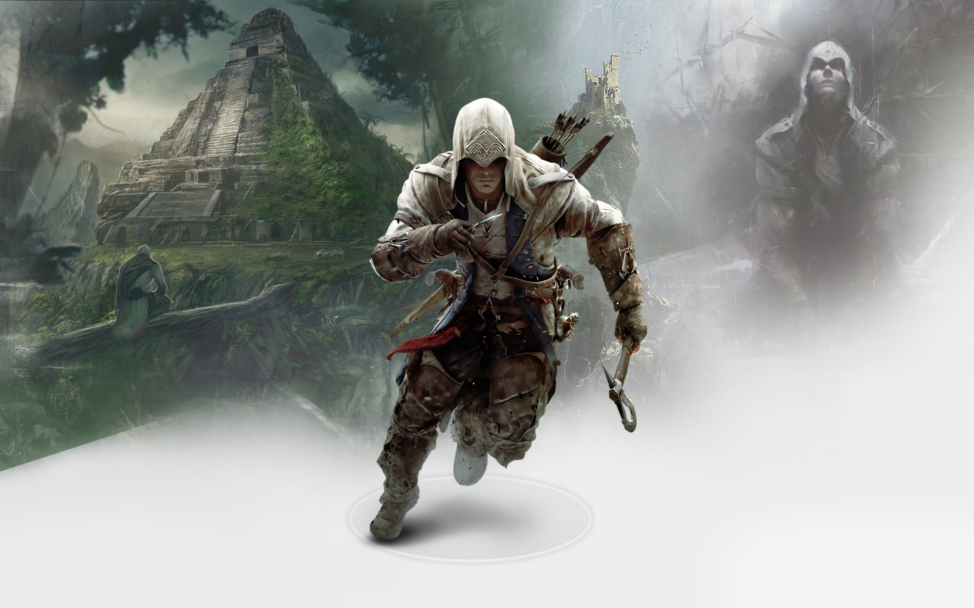 Connor In Assassins Creed 3 4145719 1920x1200