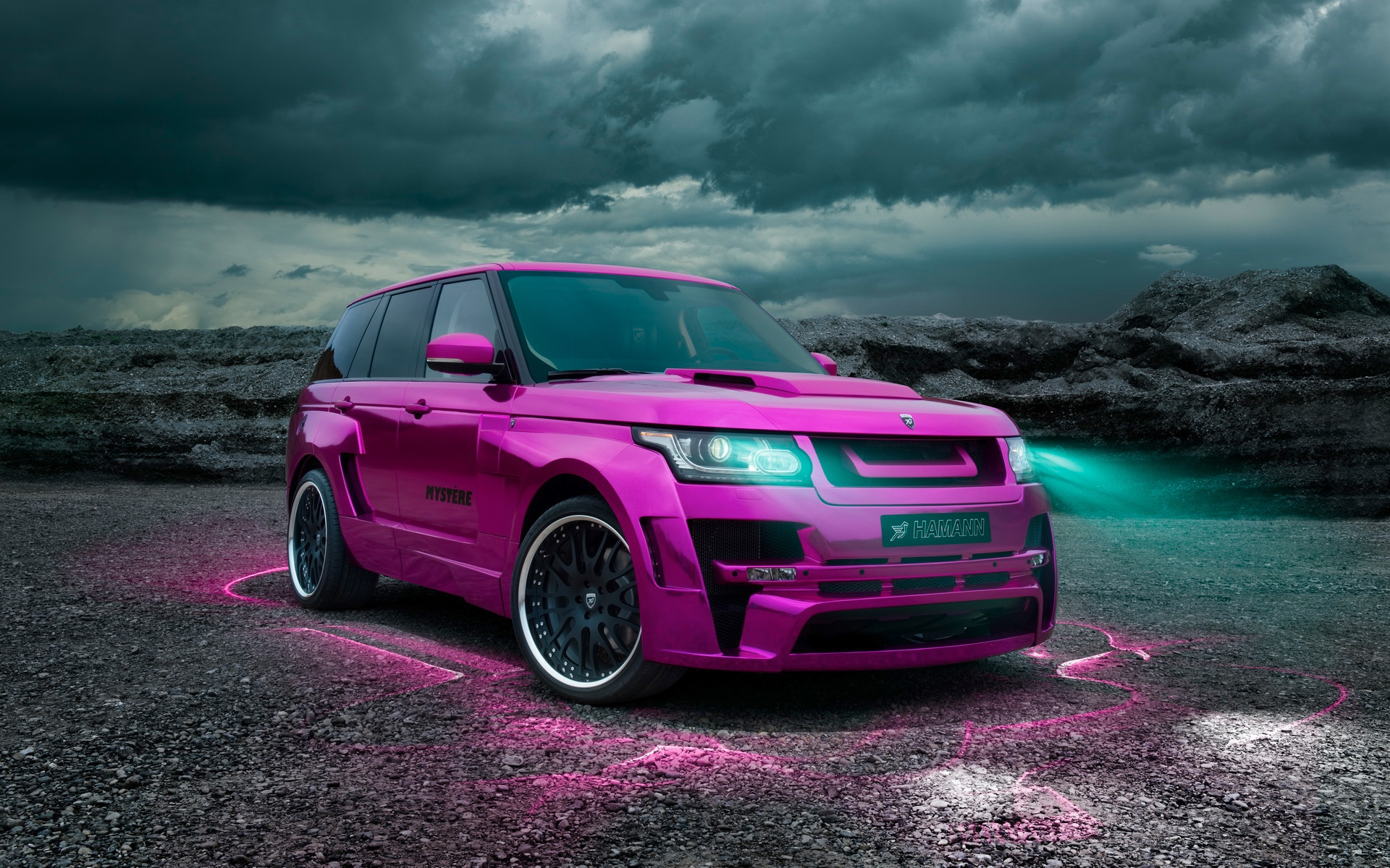 Hamann Range Rover Vogue 2013 Widebody Mystere #4154320, 1920x1200 ...