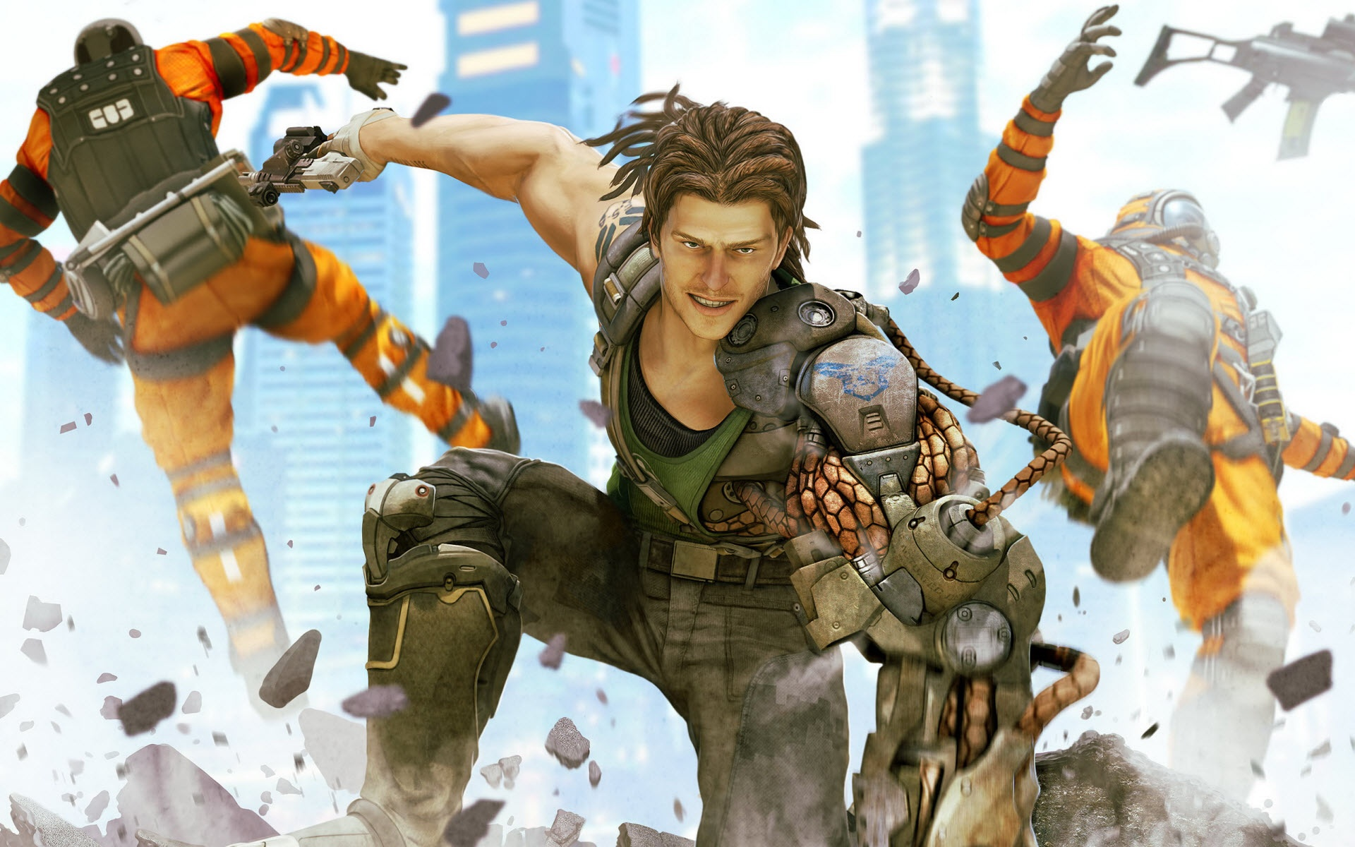 Commando 2 Wallpaper: Bionic Commando 2 #4192669, 1920x1200
