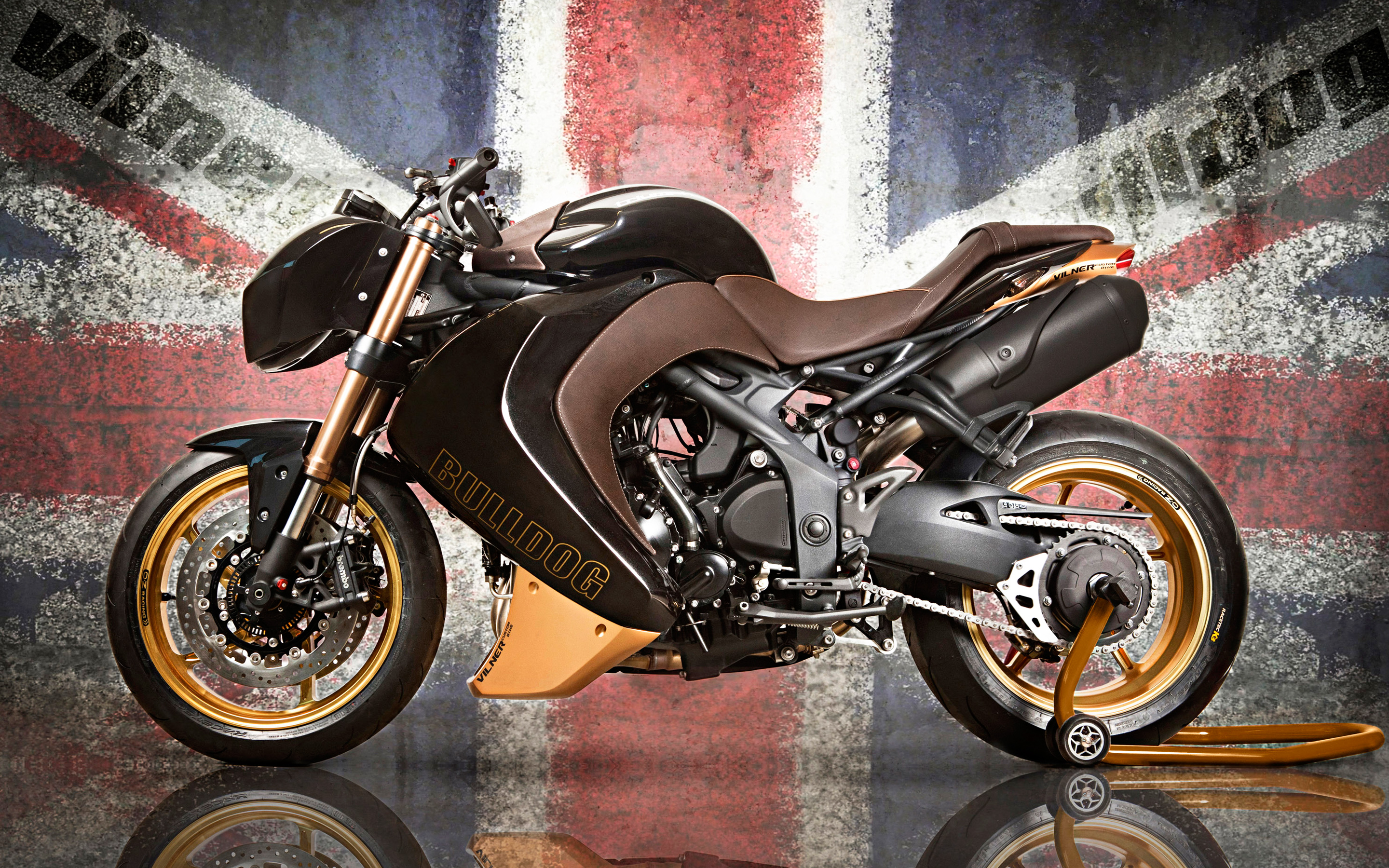Vilner Triumph Speed Triple Bulldog