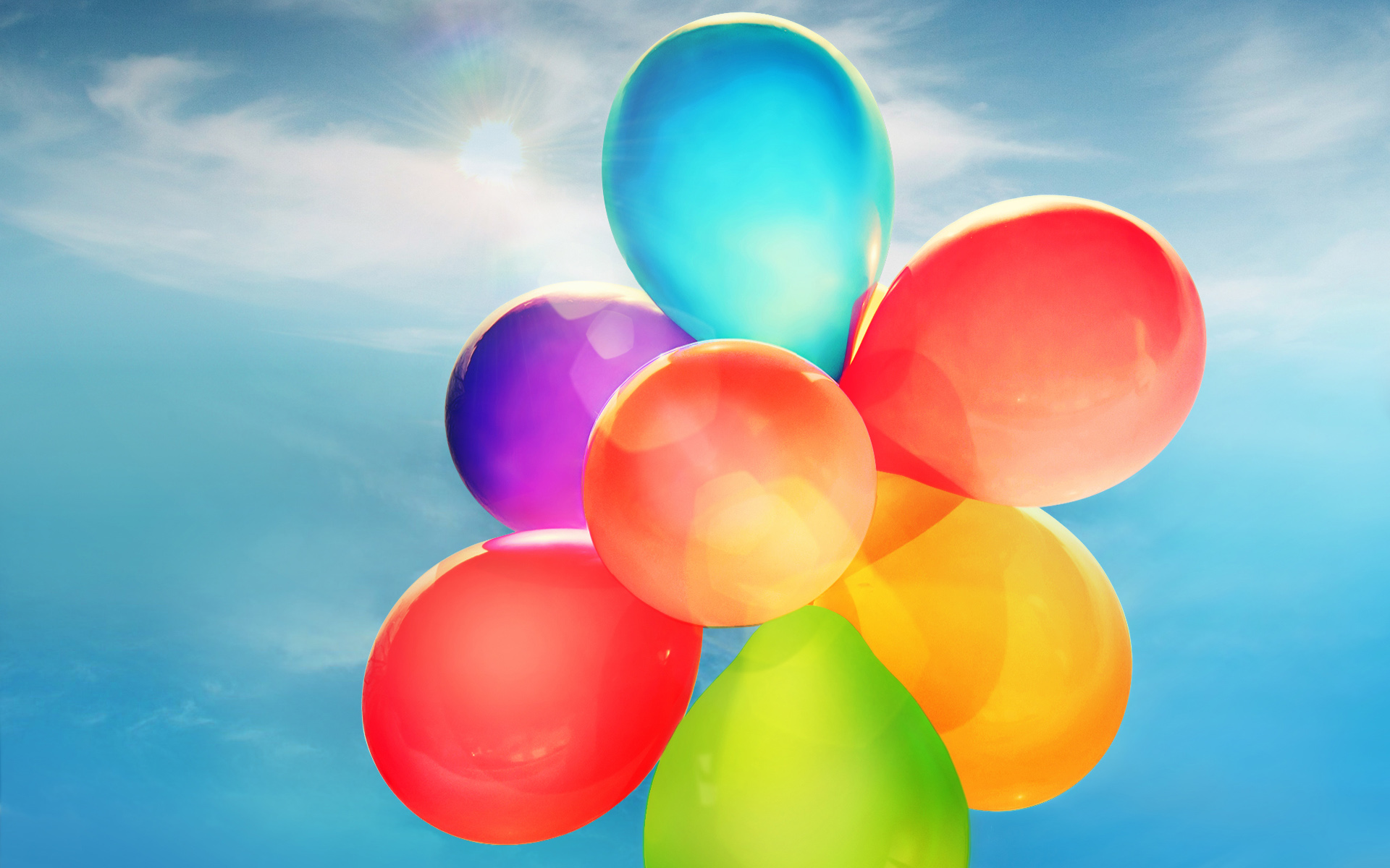 Colorful Balloons 981.03 Kb