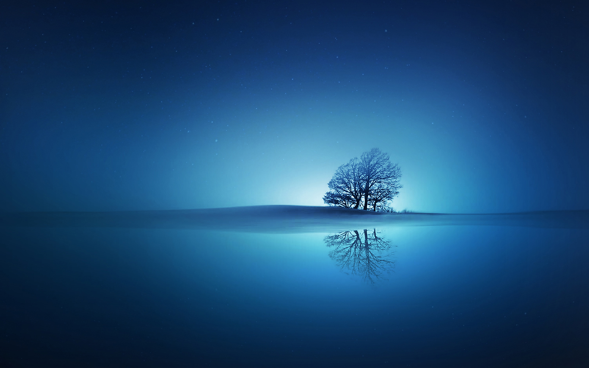 Blue Reflections