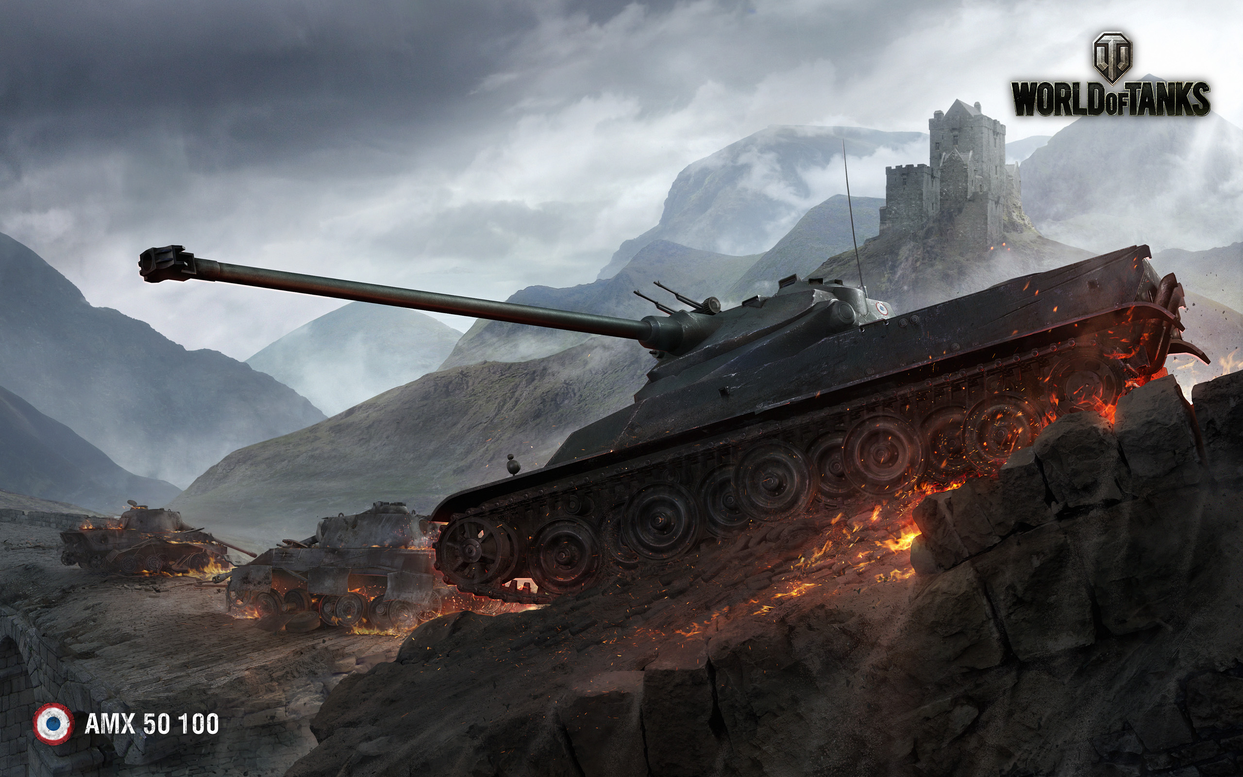 AMX 50 100 World of Tanks