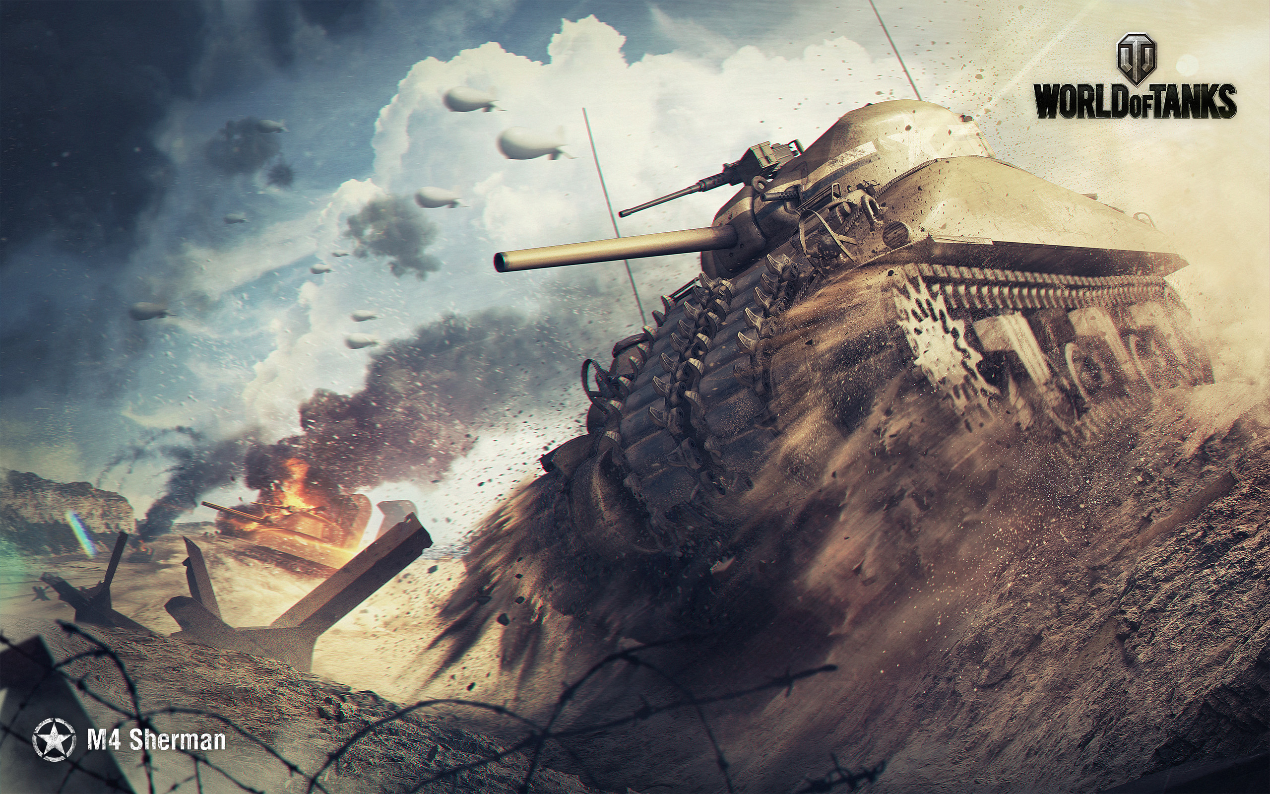 M4 Sherman World of Tanks