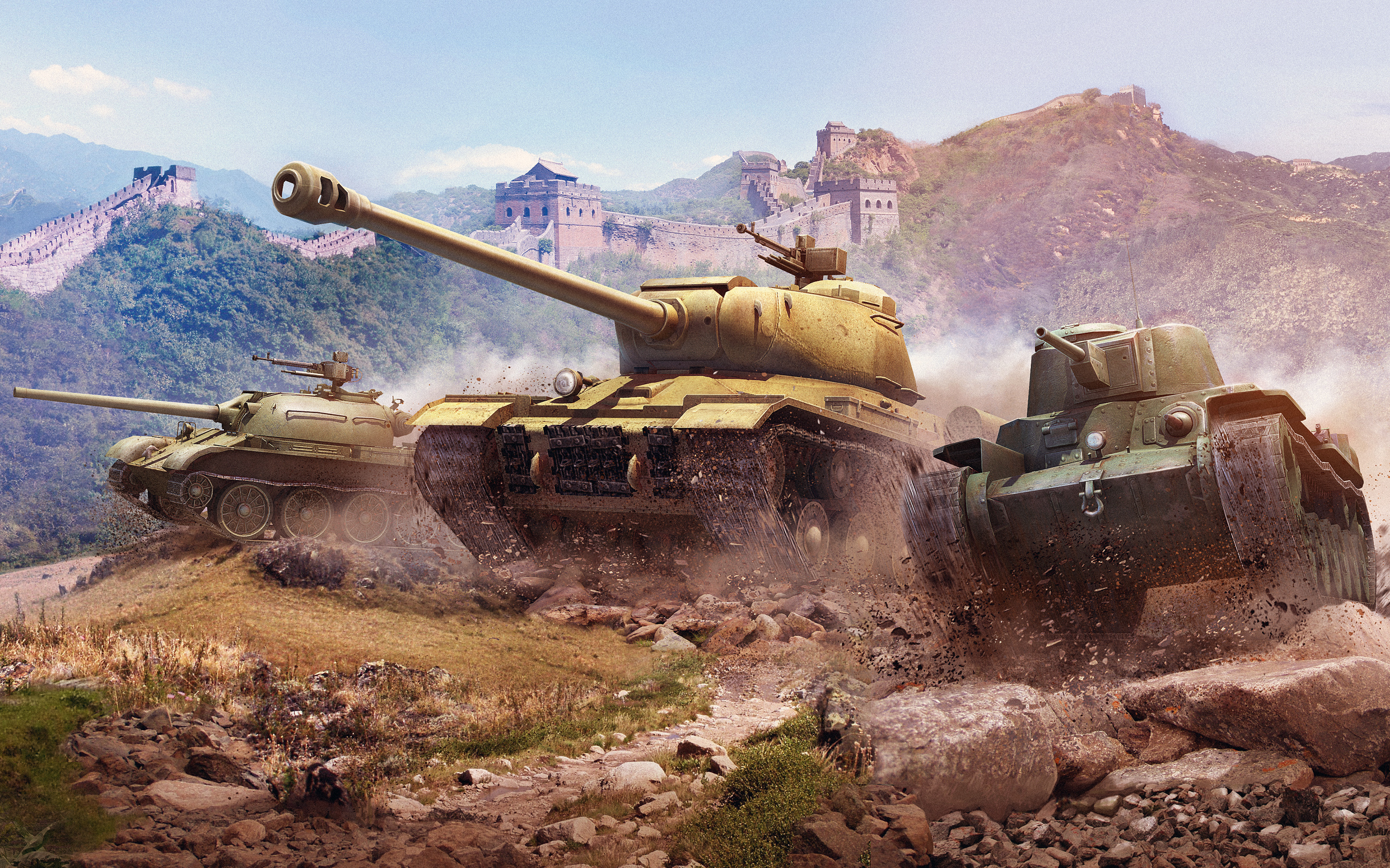 World of Tanks Chinese Tanks 806.15 Kb
