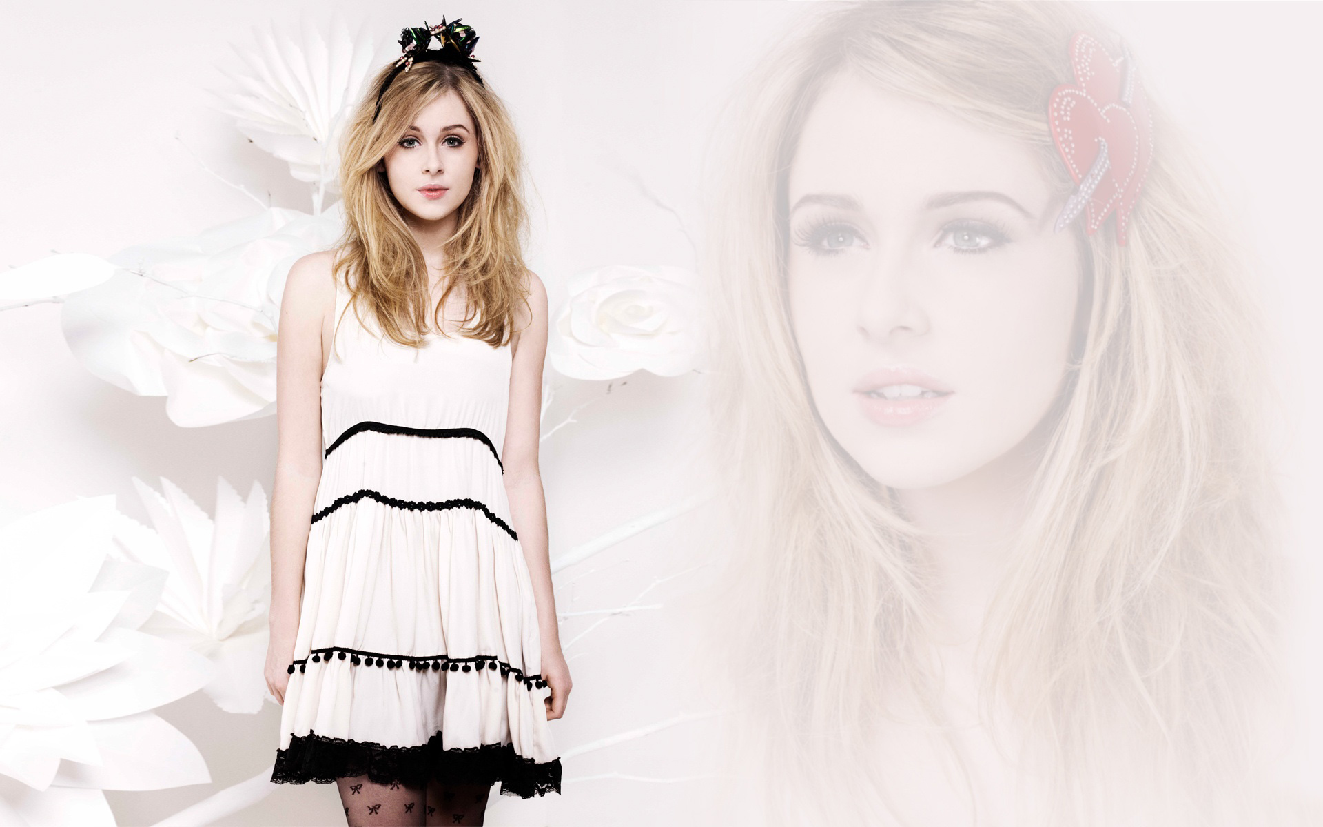 Actress Diana Vickers