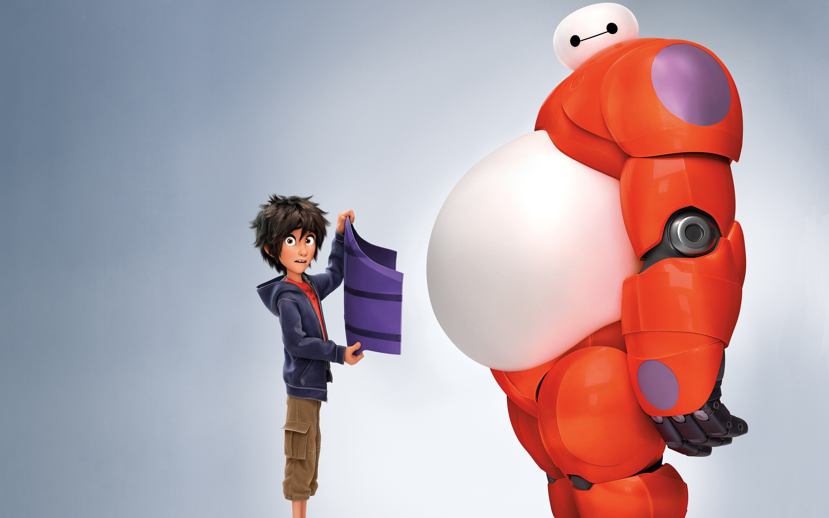 Hiro Baymax in Big Hero 6 1818.38 Kb