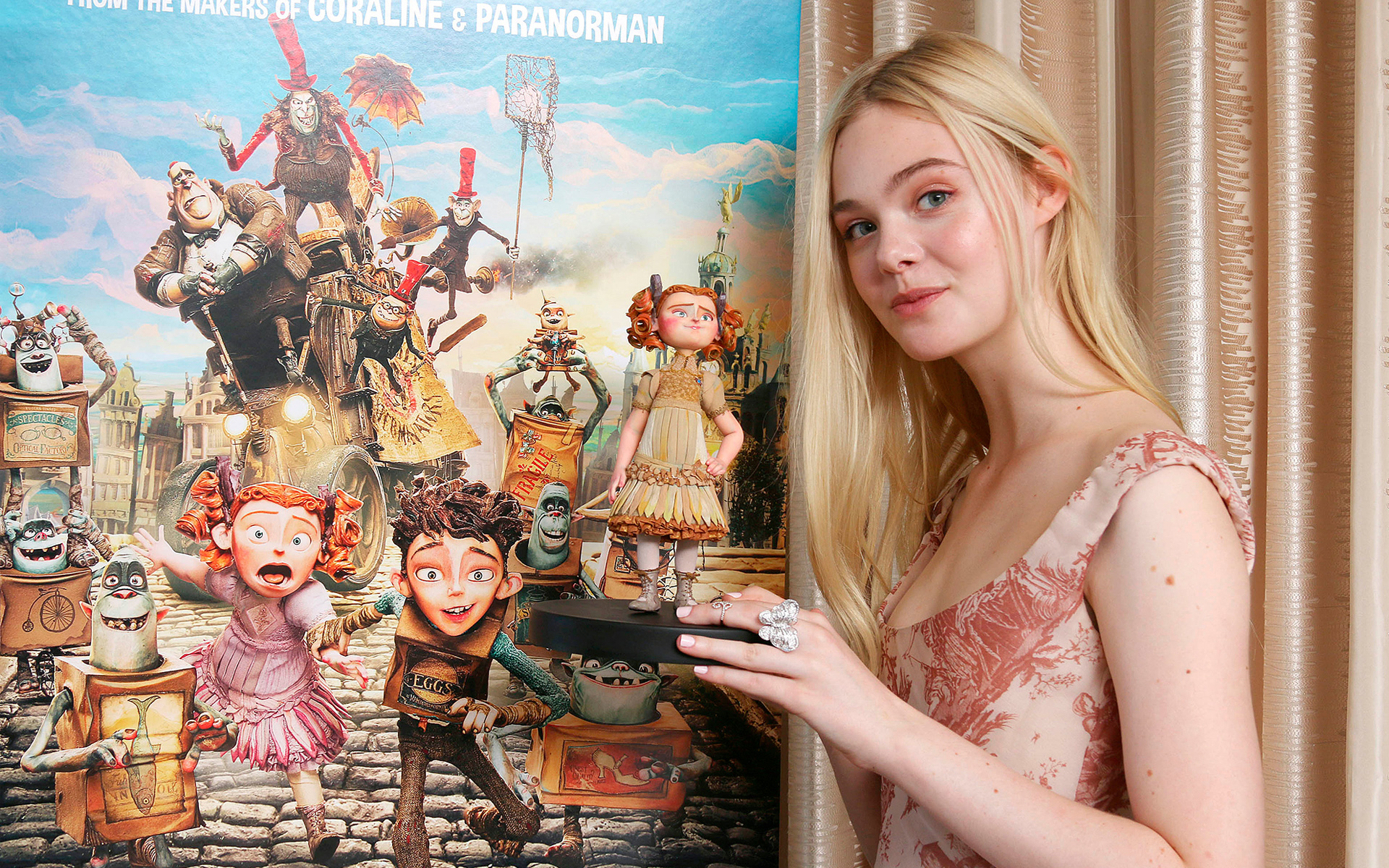Elle Fanning in The Boxtrolls 979.07 Kb
