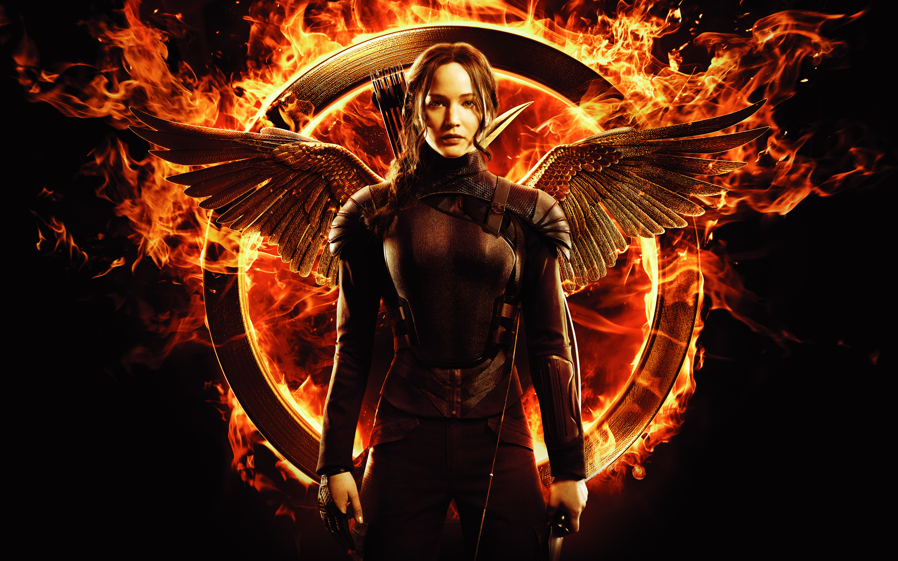 Jennifer Lawrence in Hunger Games Mockingjay 511.07 Kb