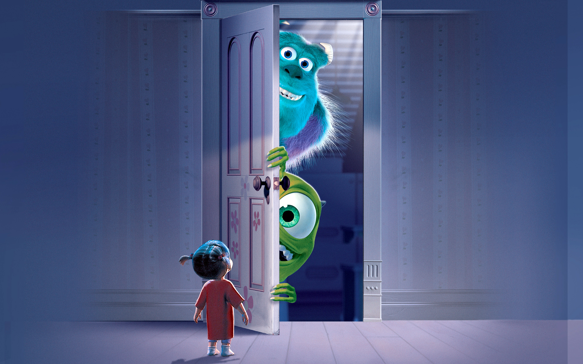 Wallpaper iphone monster university - Monsters Inc Movie