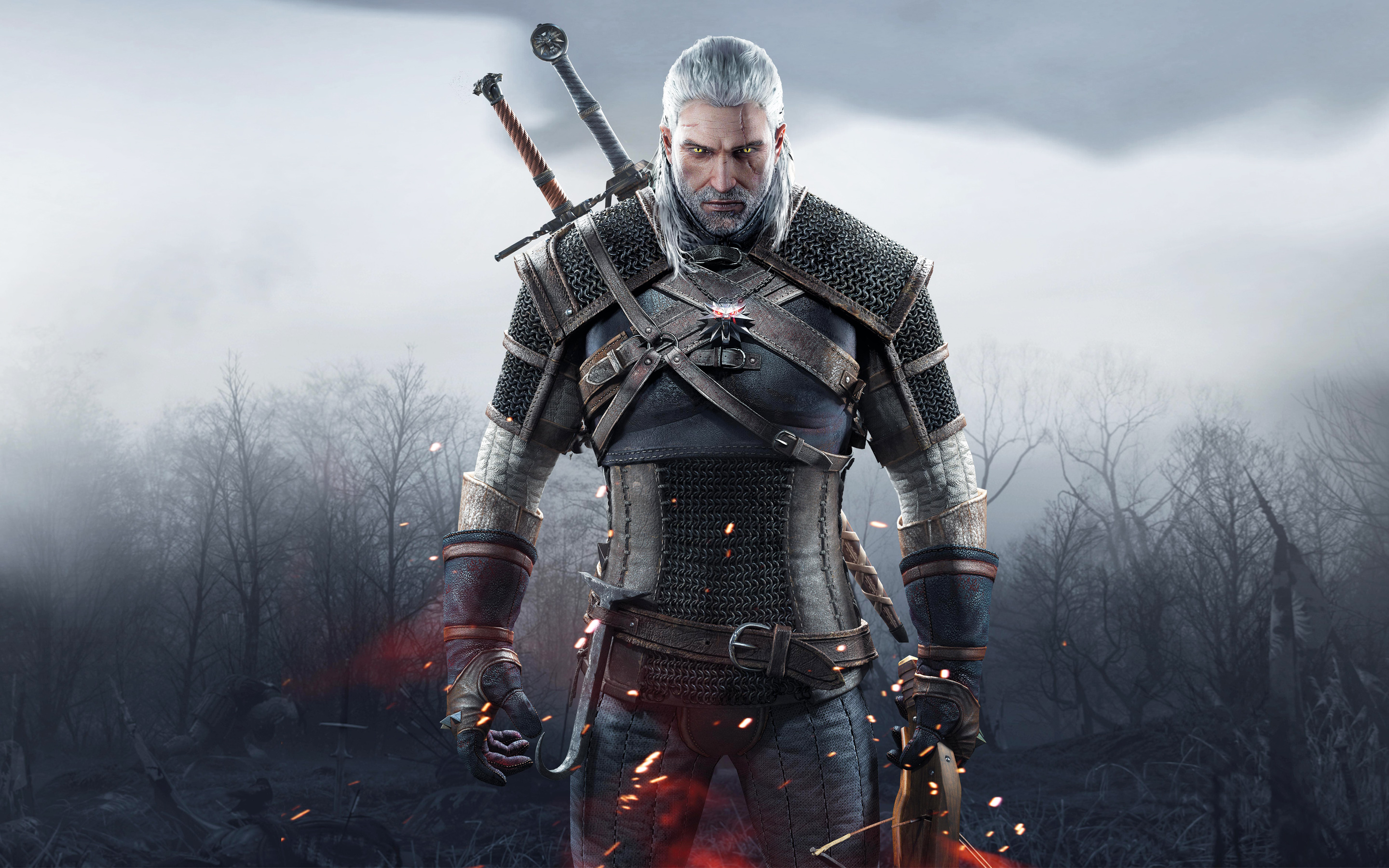 Geralt of Rivia in The Witcher 3 Wild Hunt