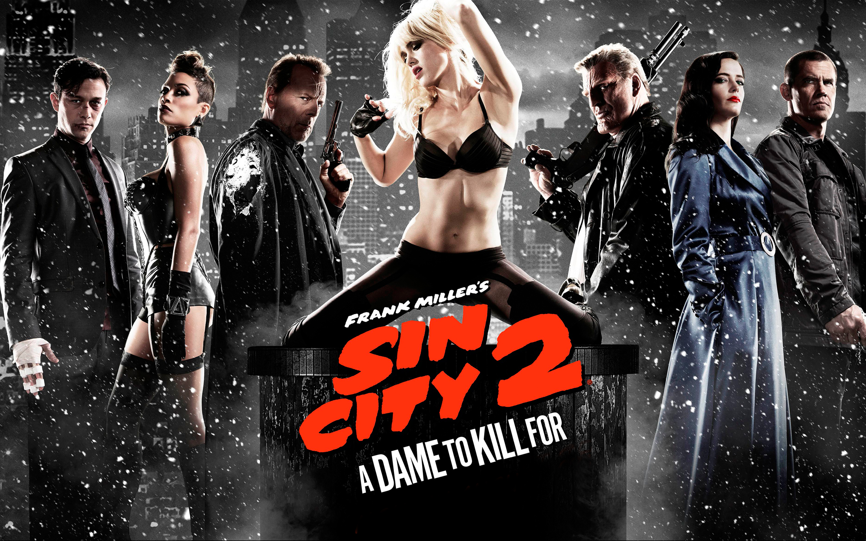 Sin City A Dame to Kill For Poster 957.96 Kb