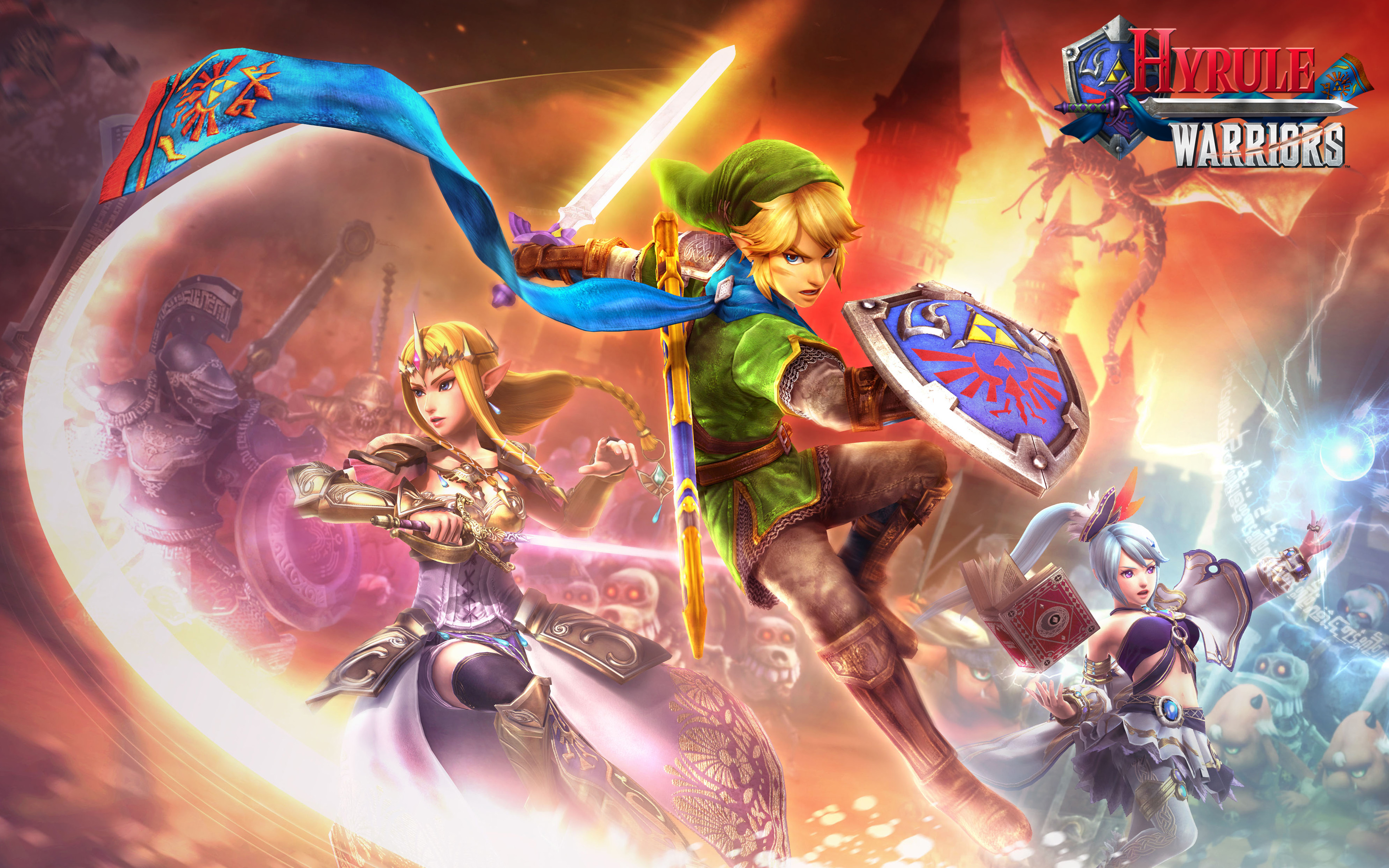 Hyrule Warriors Nintendo Wii U Game