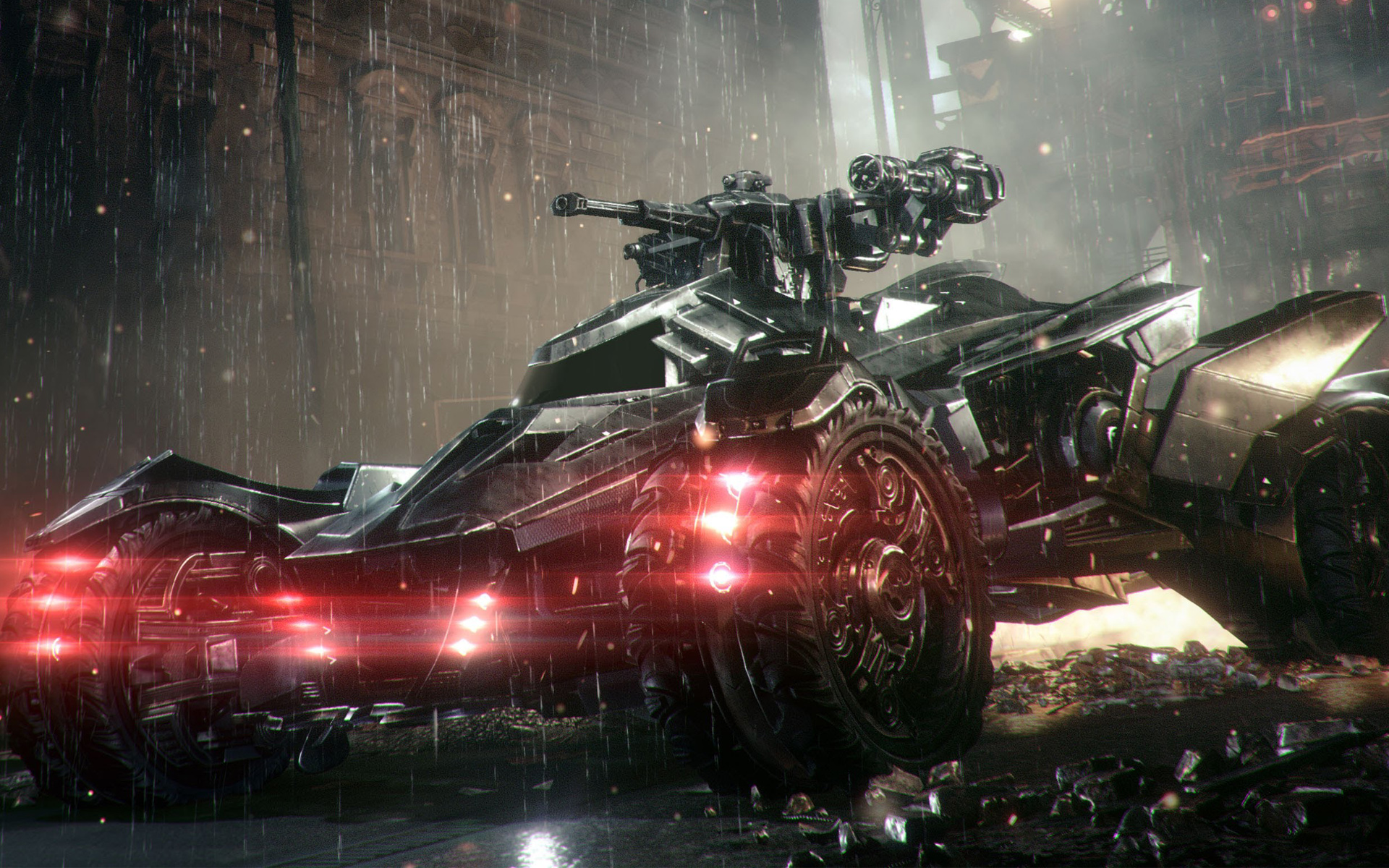 Batmobile in Arkham Knight 1268.96 Kb