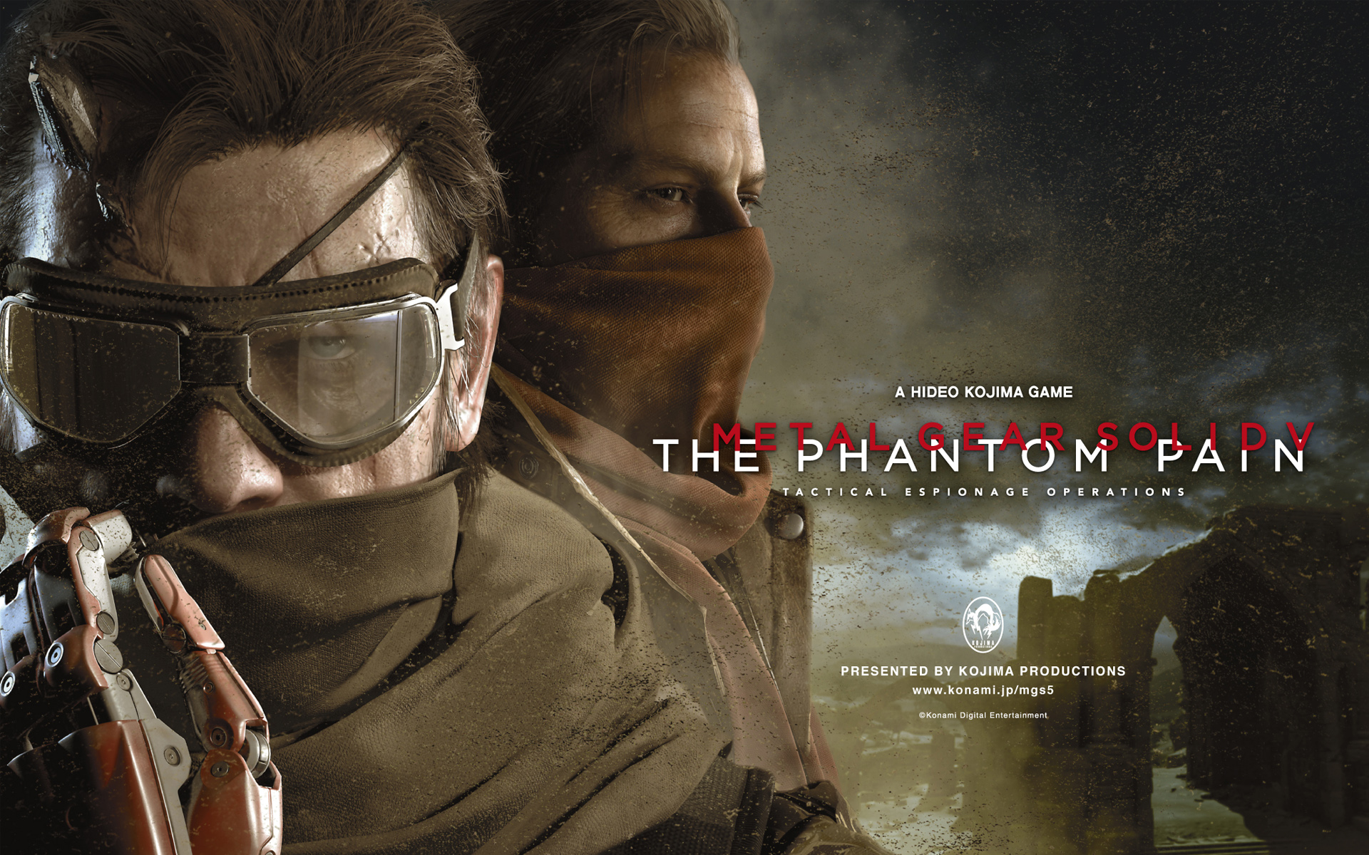 Metal Gear Solid V The Phantom Pain 1482.28 Kb