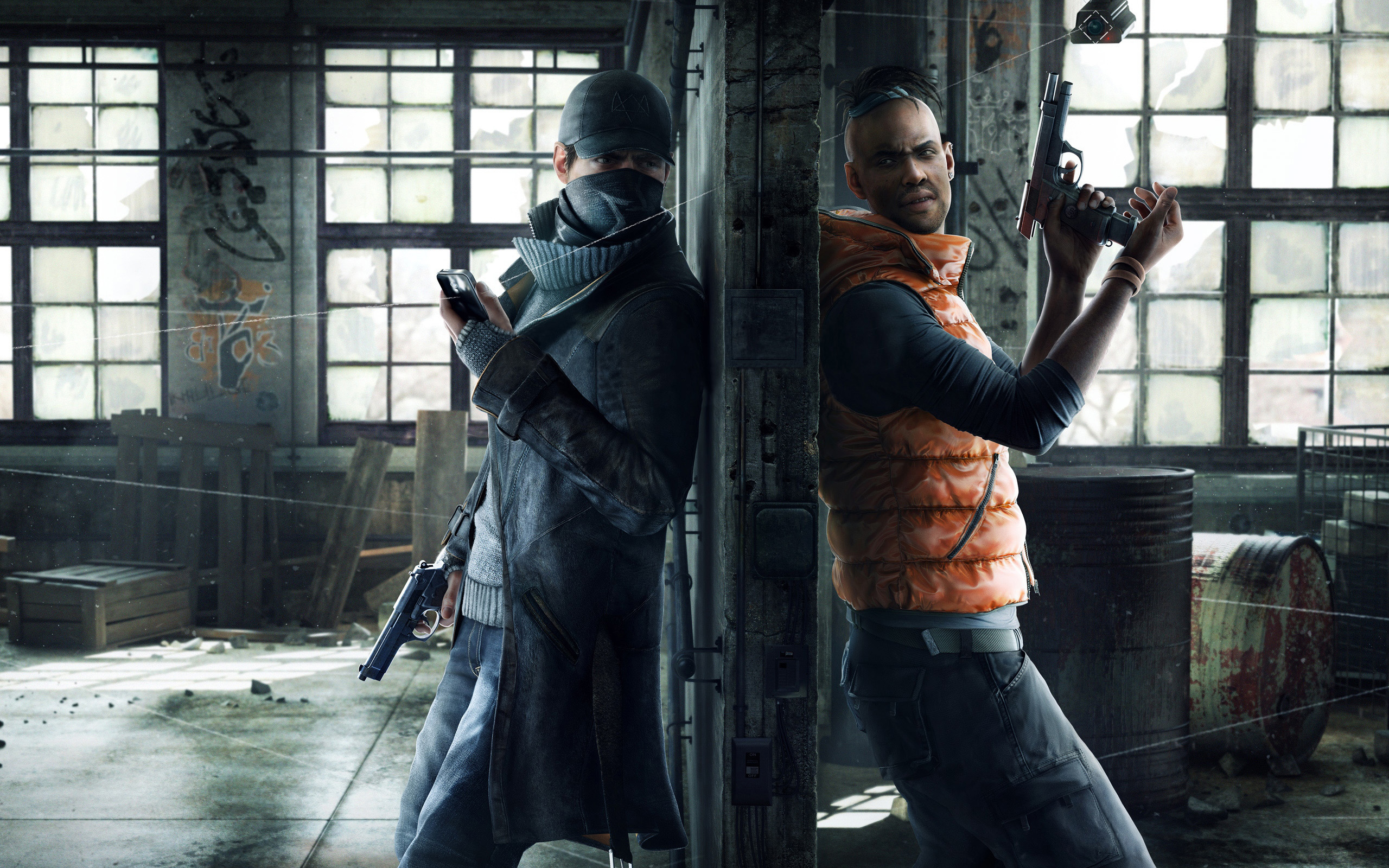 2014 Watch Dogs Game 4144224 2560x1600 All For Desktop