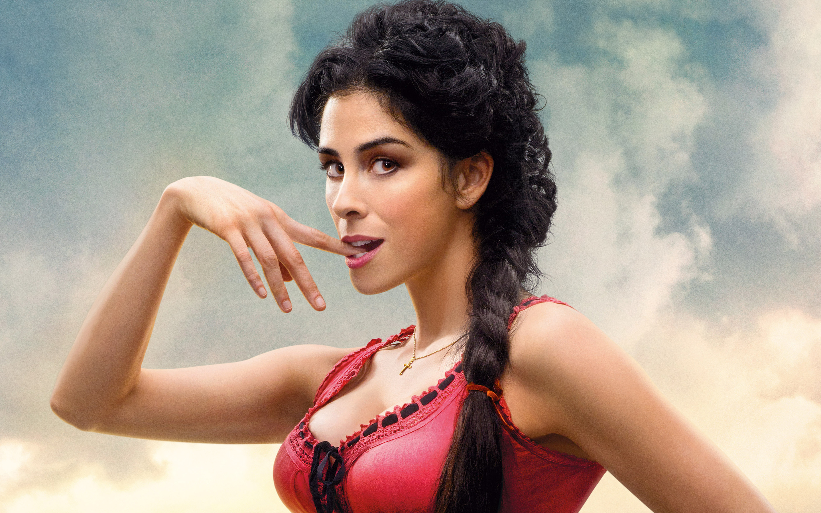 Sarah Silverman  in A Million Ways to Die in the West 317.58 Kb