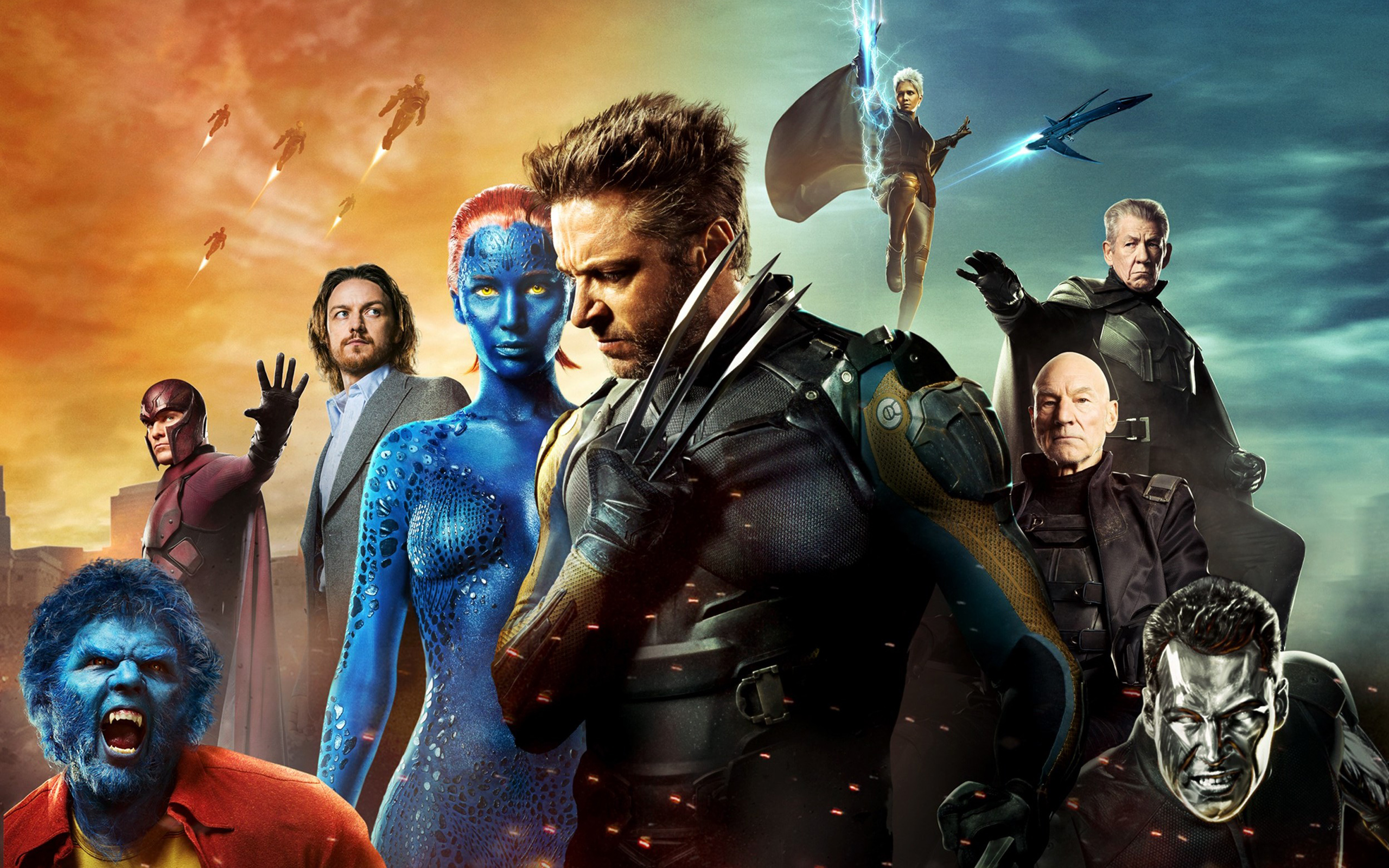 X Men Days of Future Past Poster 684.26 Kb