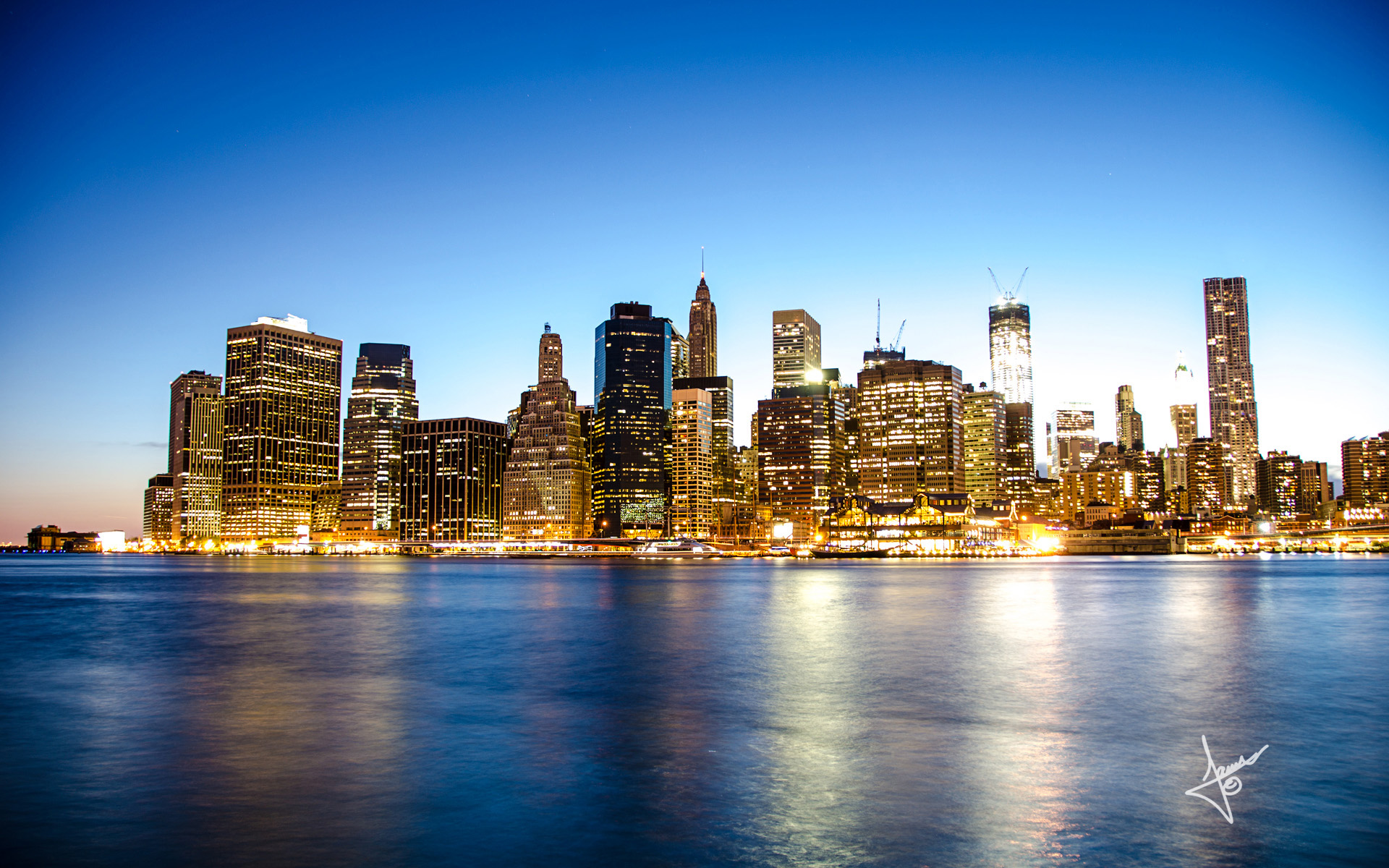 manhattan skyline new - photo #8
