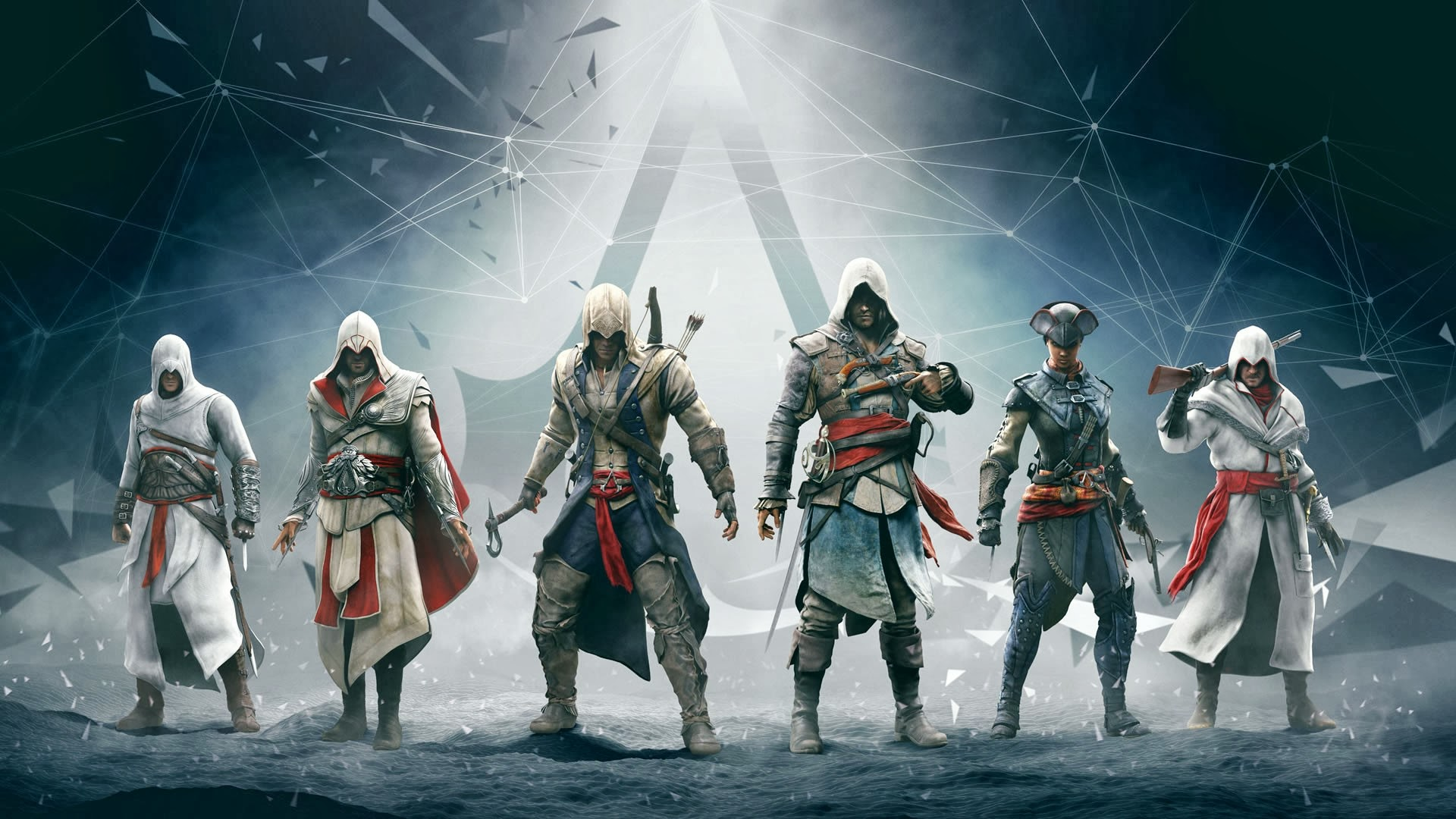 Assassins Creed Altair Ezio Connor Edward 1517.8 Kb
