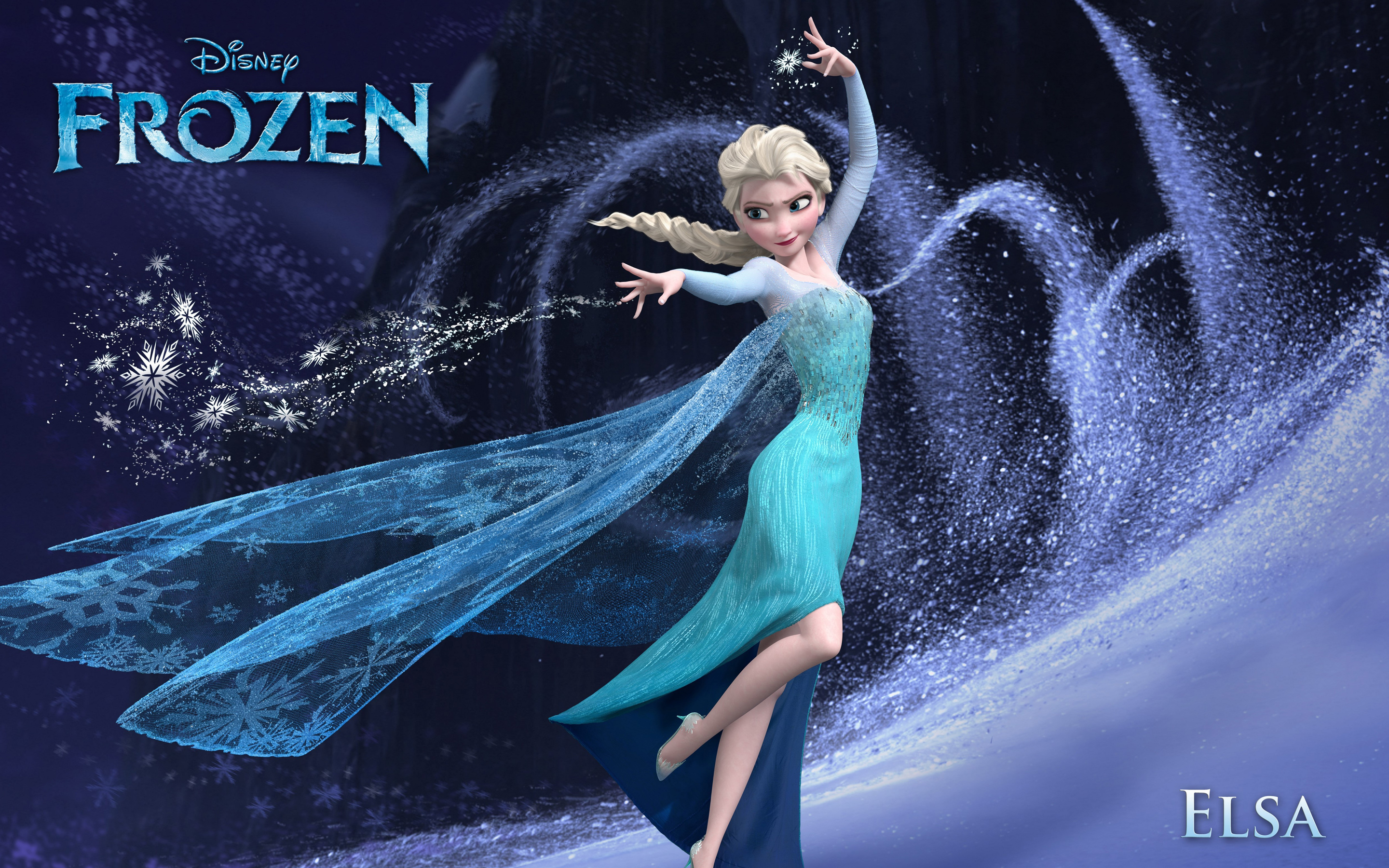 Elsa in Frozen 2445.65 Kb