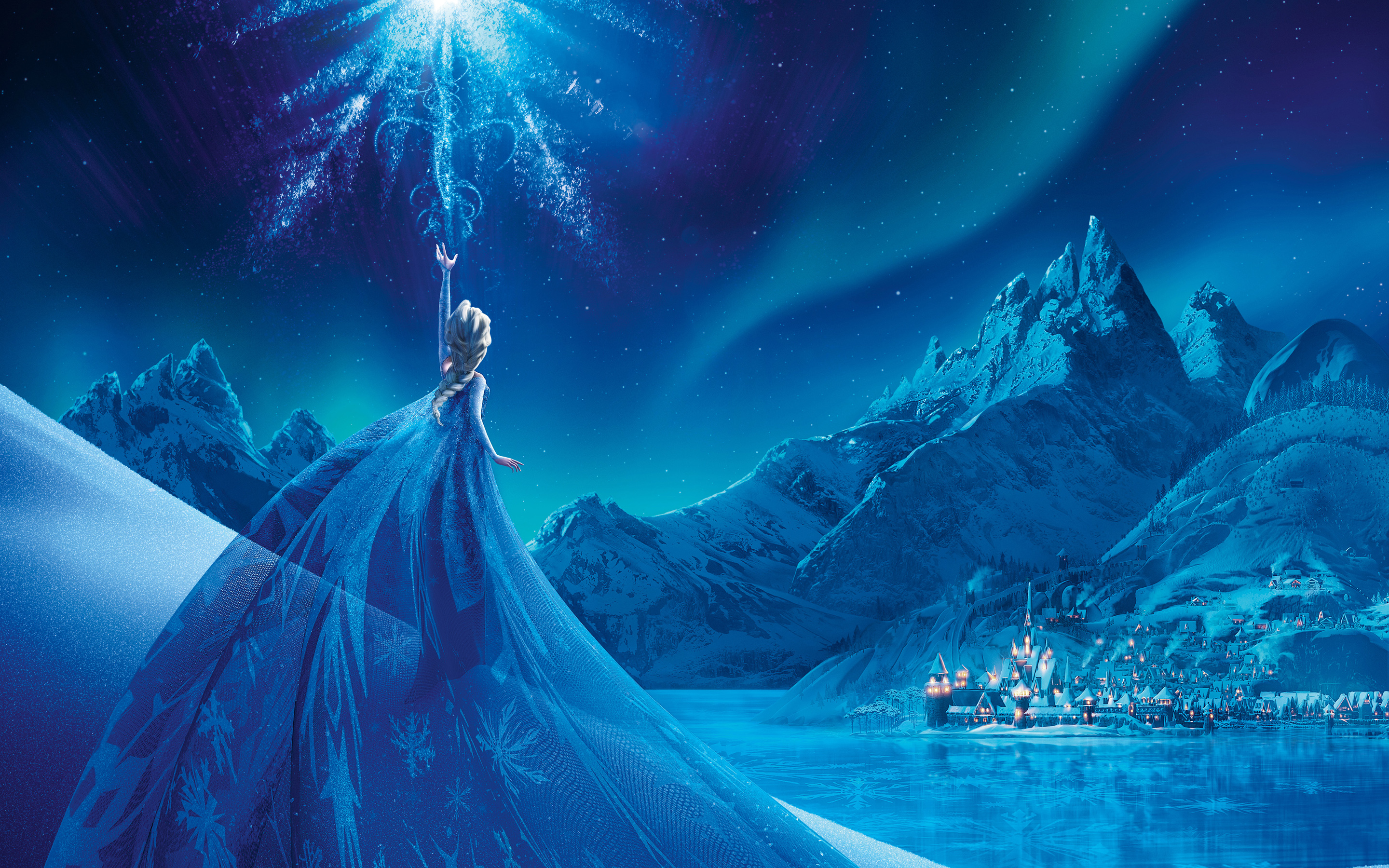 Frozen Elsa Snow Queen Palace 2445.65 Kb