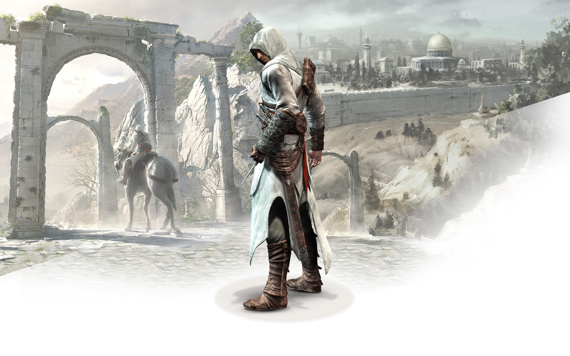 Altair Ibn La Ahad in Assassin's Creed 299.26 Kb