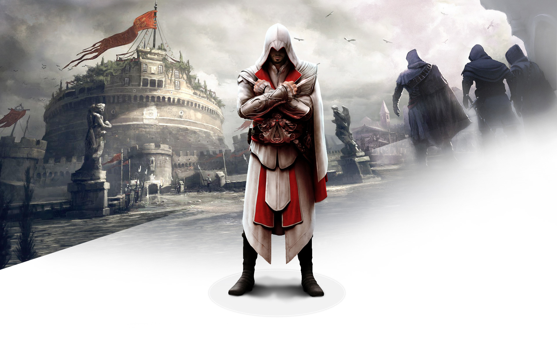 Ezio in Assassin's Creed Brotherhood 299.26 Kb