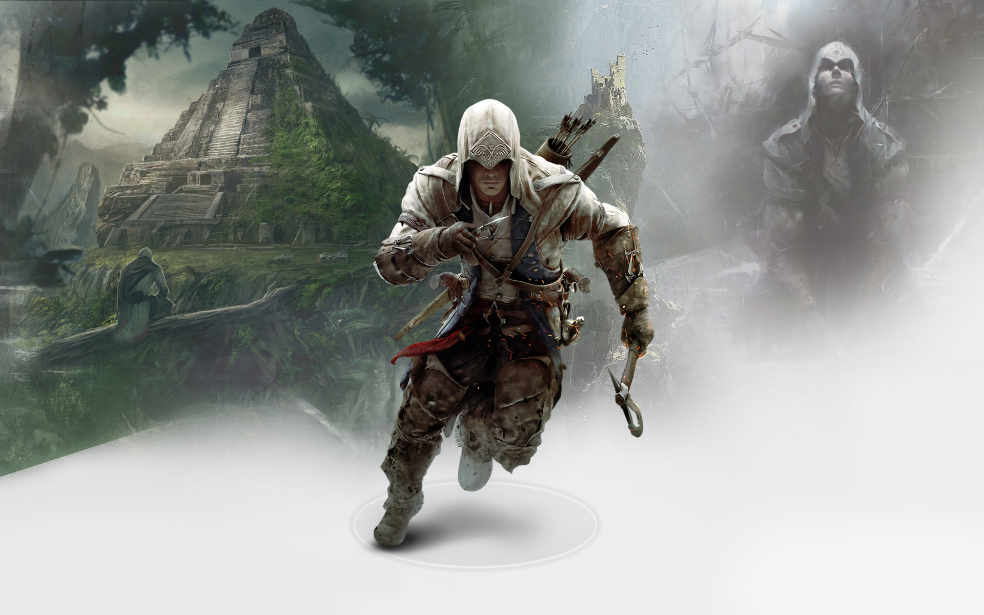 Connor in Assassin's Creed 3 1517.8 Kb