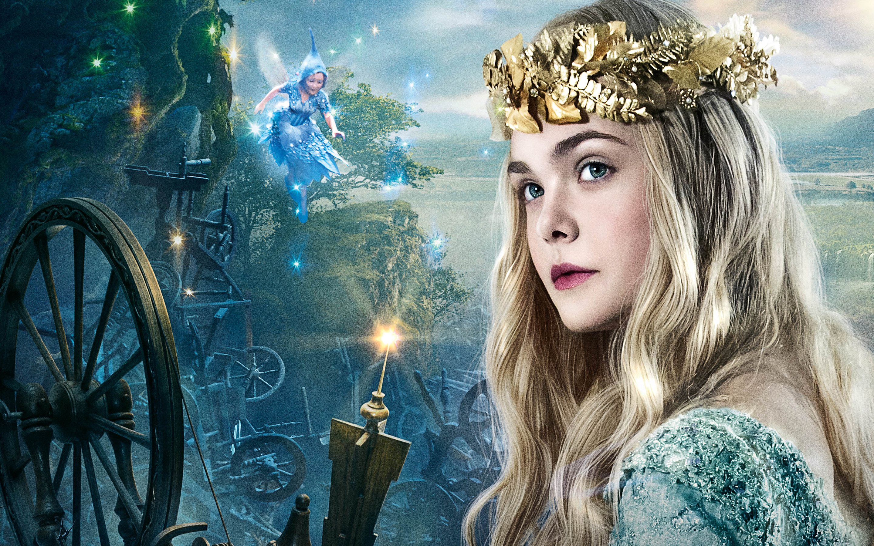 Elle Fanning as Princess Aurora 541.89 Kb