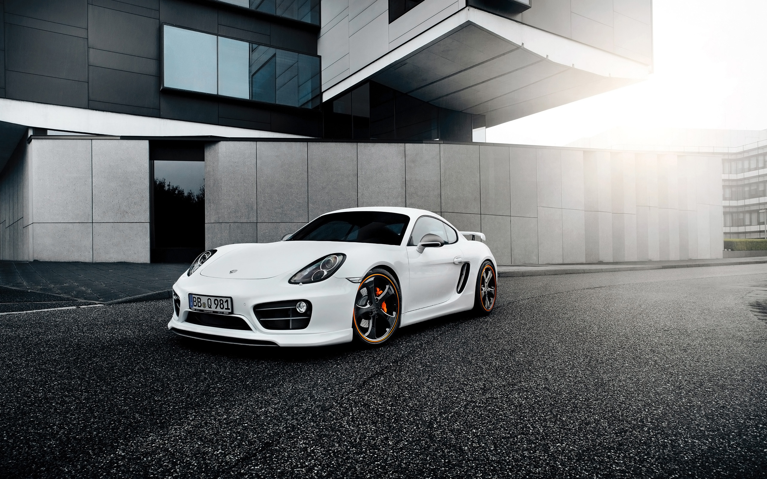 TechArt Porsche Cayman 2014