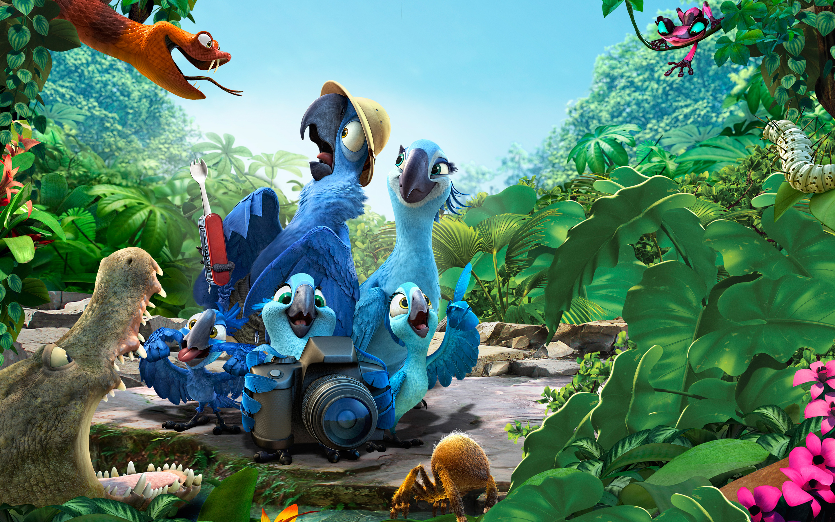 2014 Rio 2 Movie 2977.59 Kb