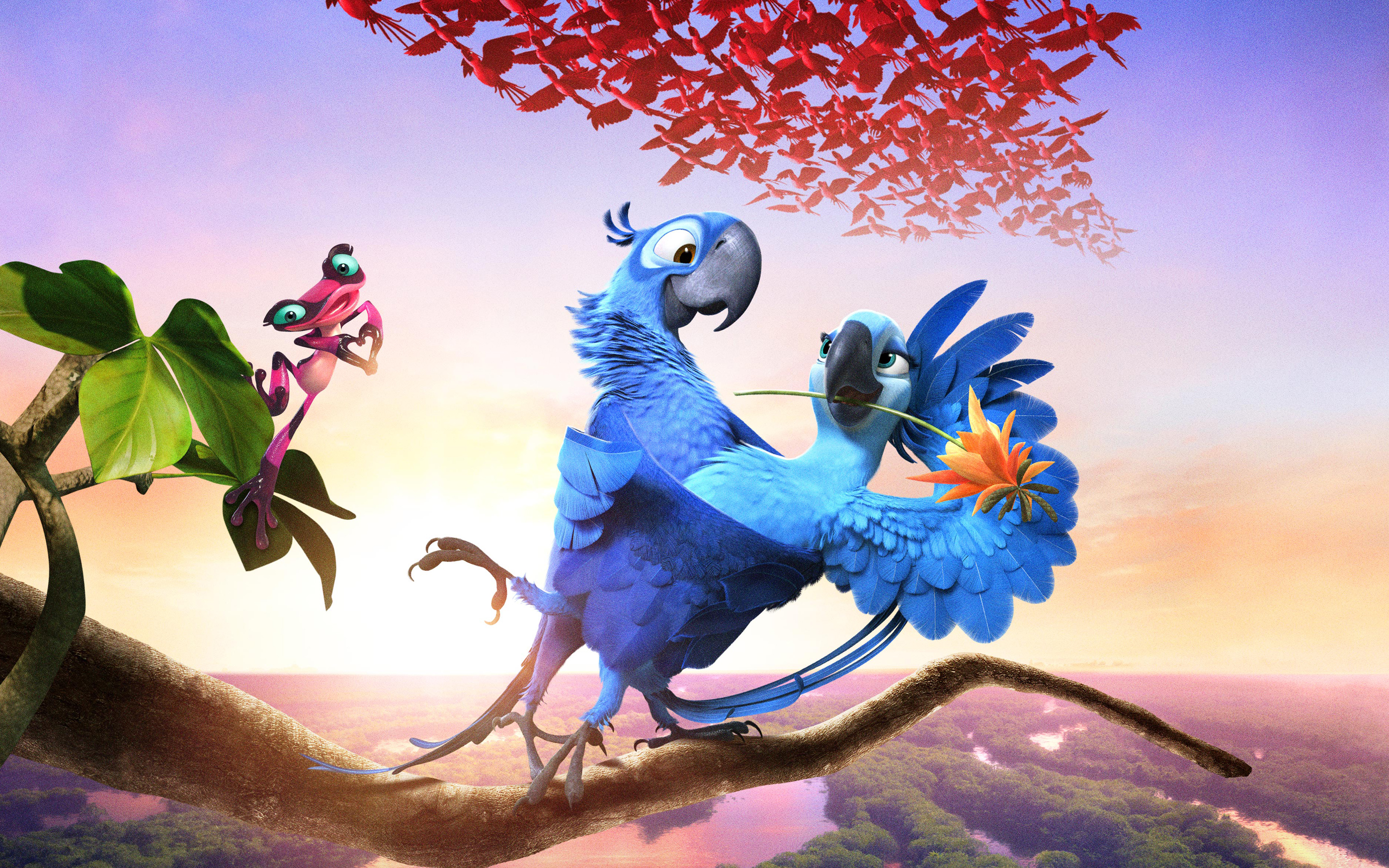 Rio 2 2014 Movie 2977.59 Kb