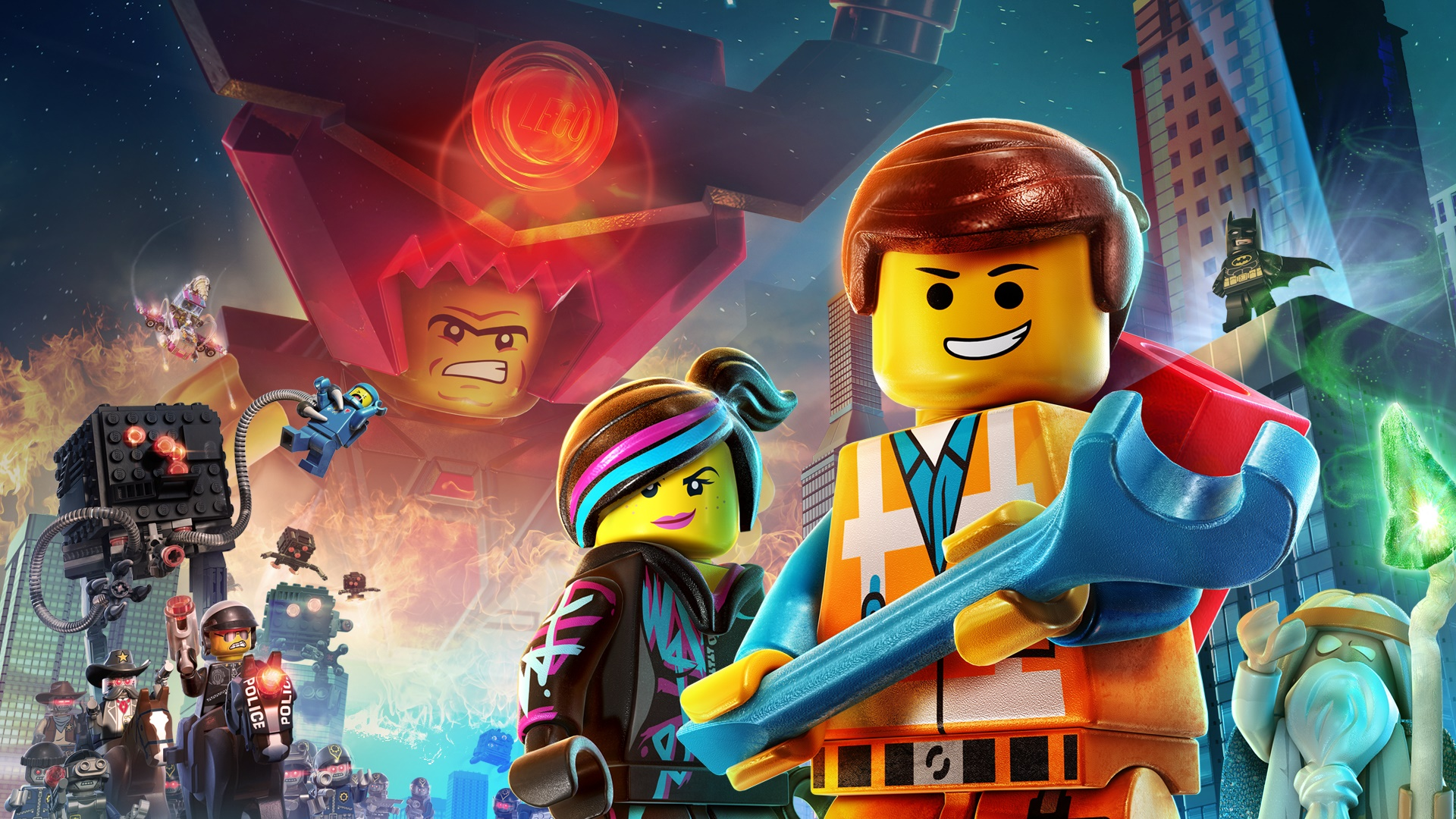 The Lego Movie 2014 Movie 2977.59 Kb