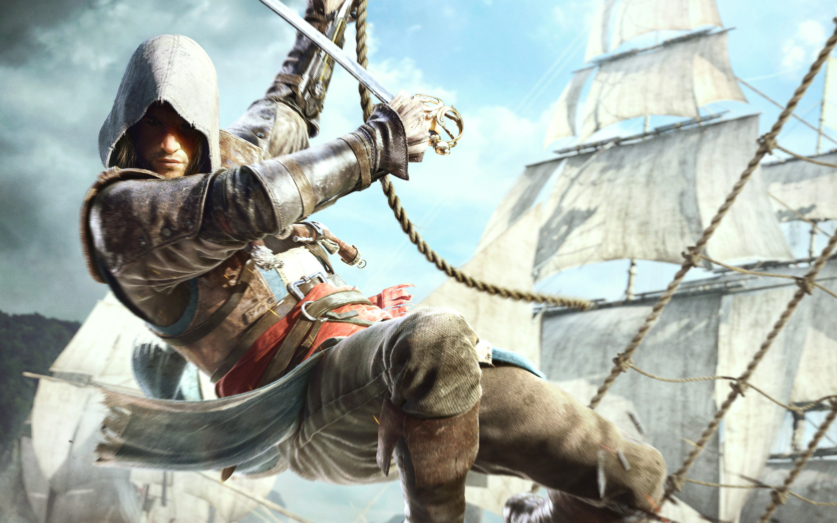 Edward Kenway in Assassin's Creed 4 299.26 Kb