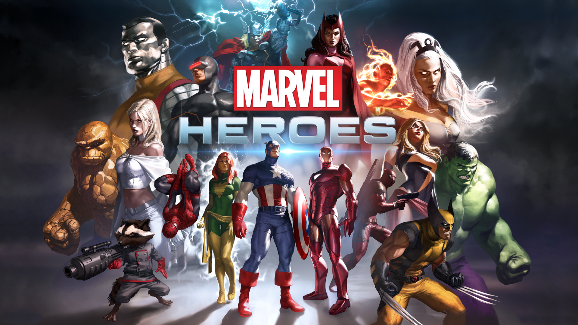 Marvel Heroes Game 439.22 Kb
