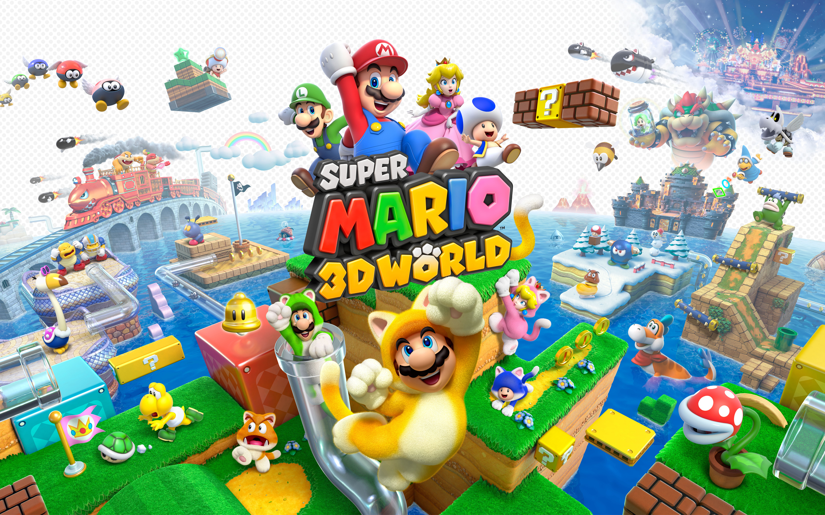 Super Mario 3D World 453.71 Kb