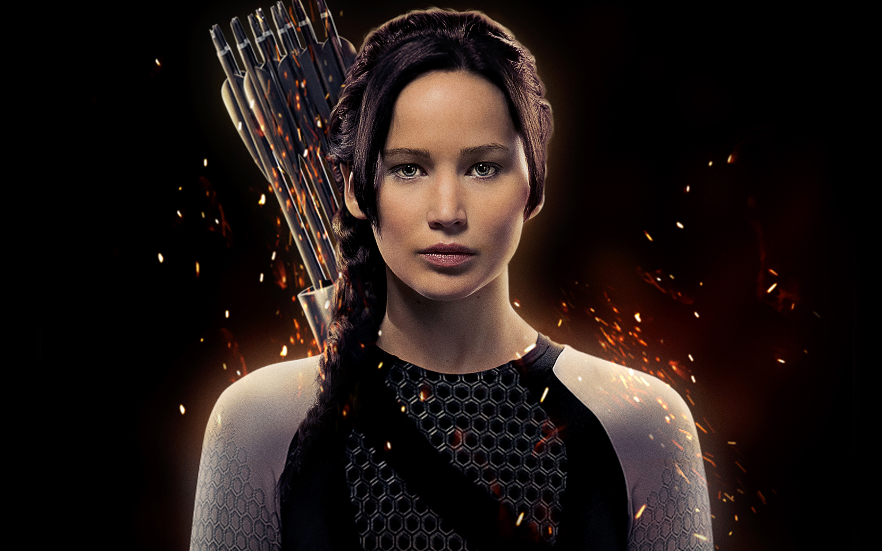 Jennifer Lawrence as Katniss 3001.76 Kb