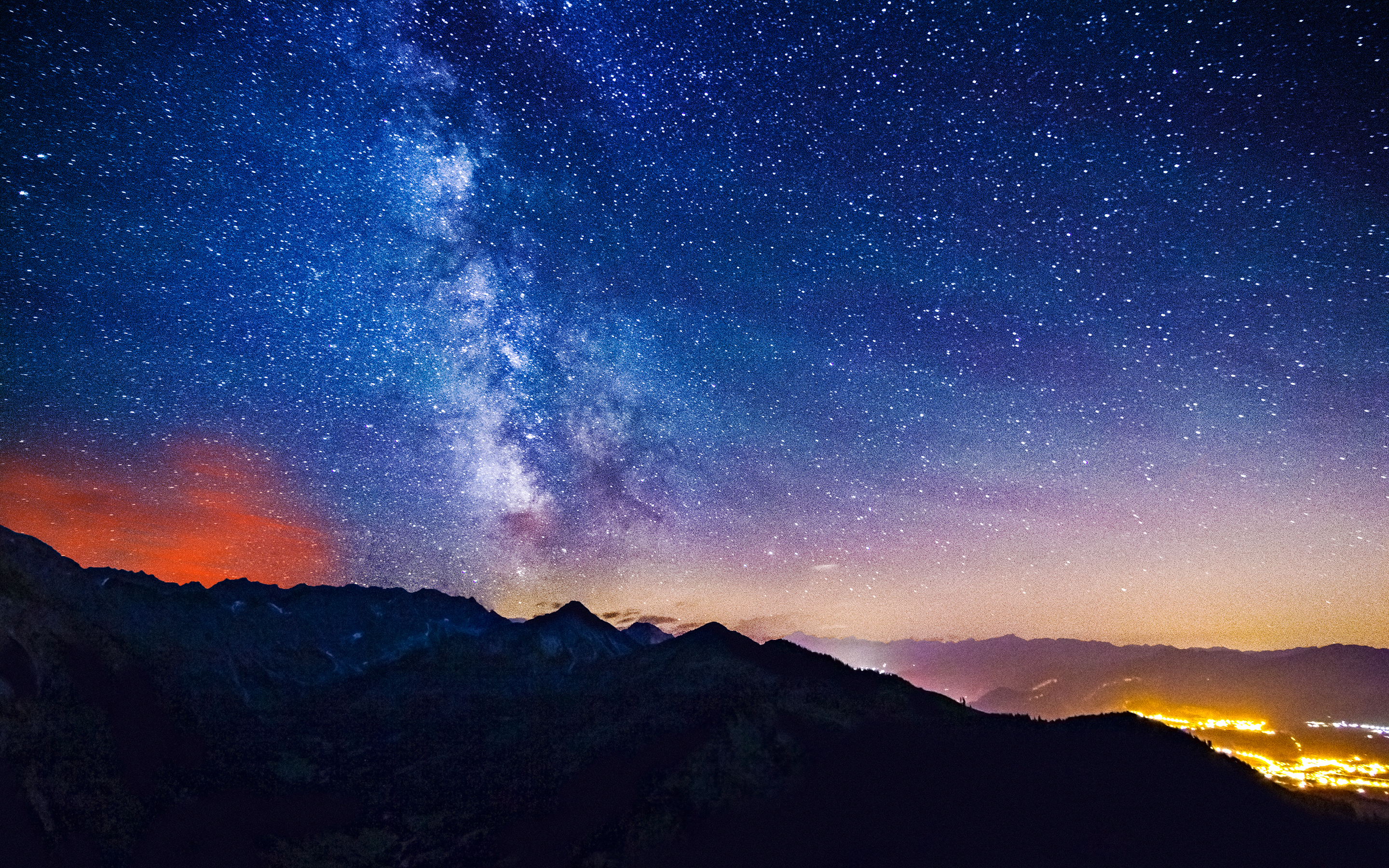Milky Way Mountains