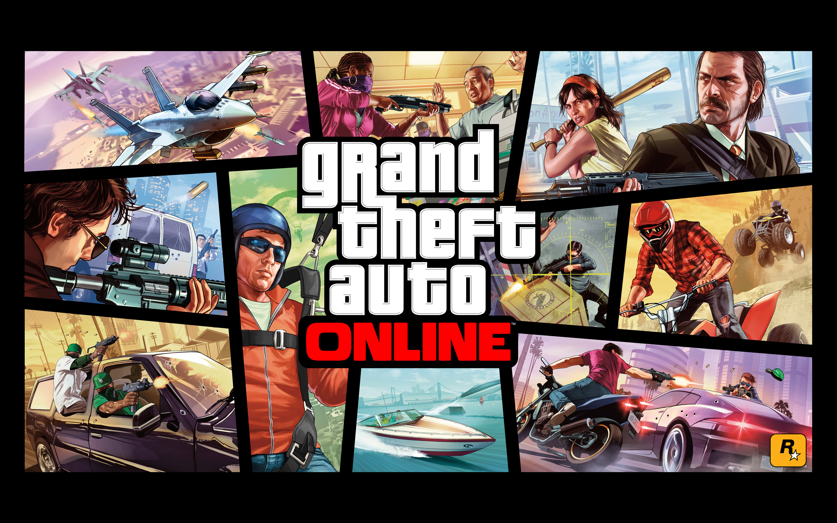 Grand Theft Auto Online 1110.5 Kb