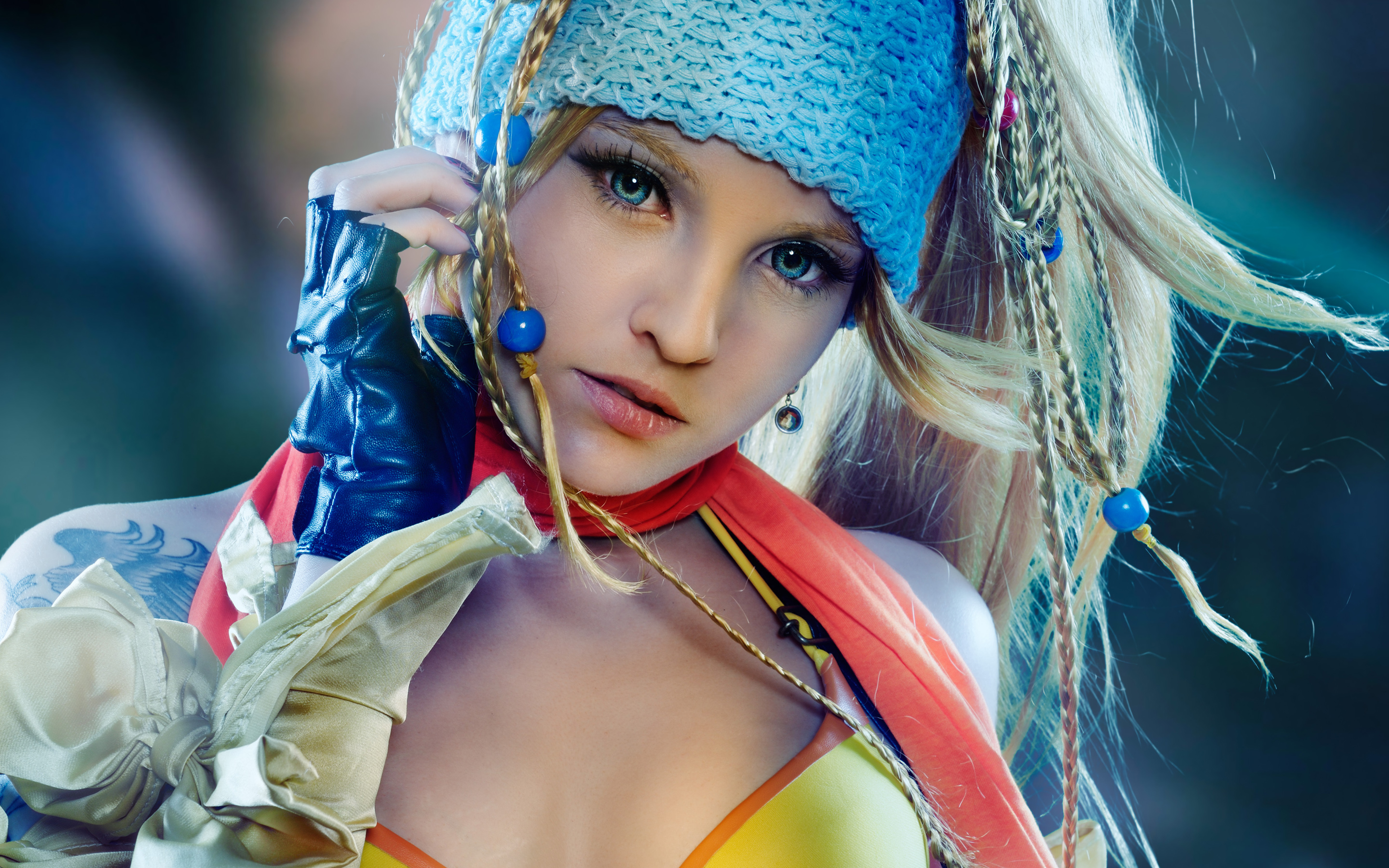 Rikku in Final Fantasy