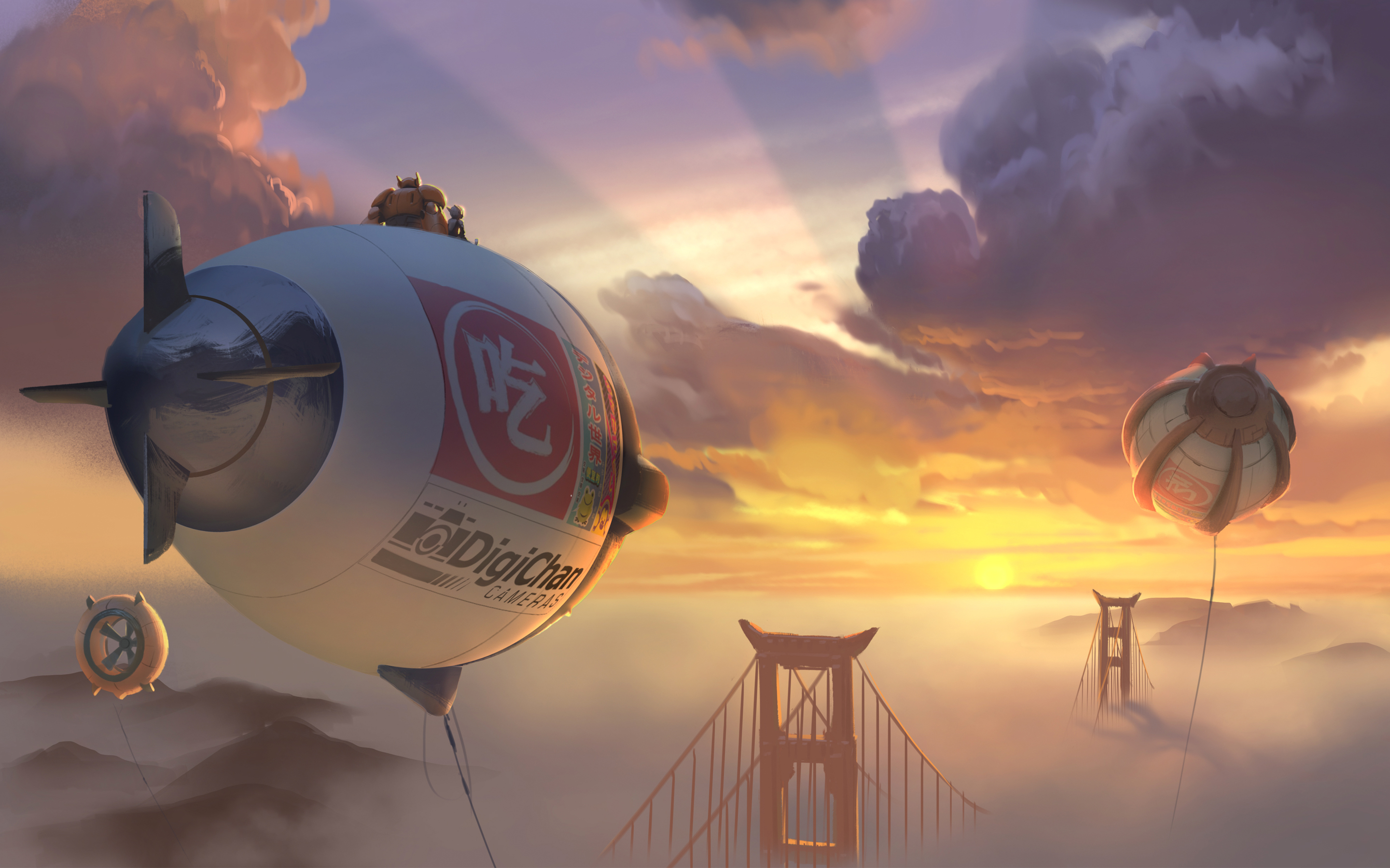 Big Hero 6 2014 Concept Art