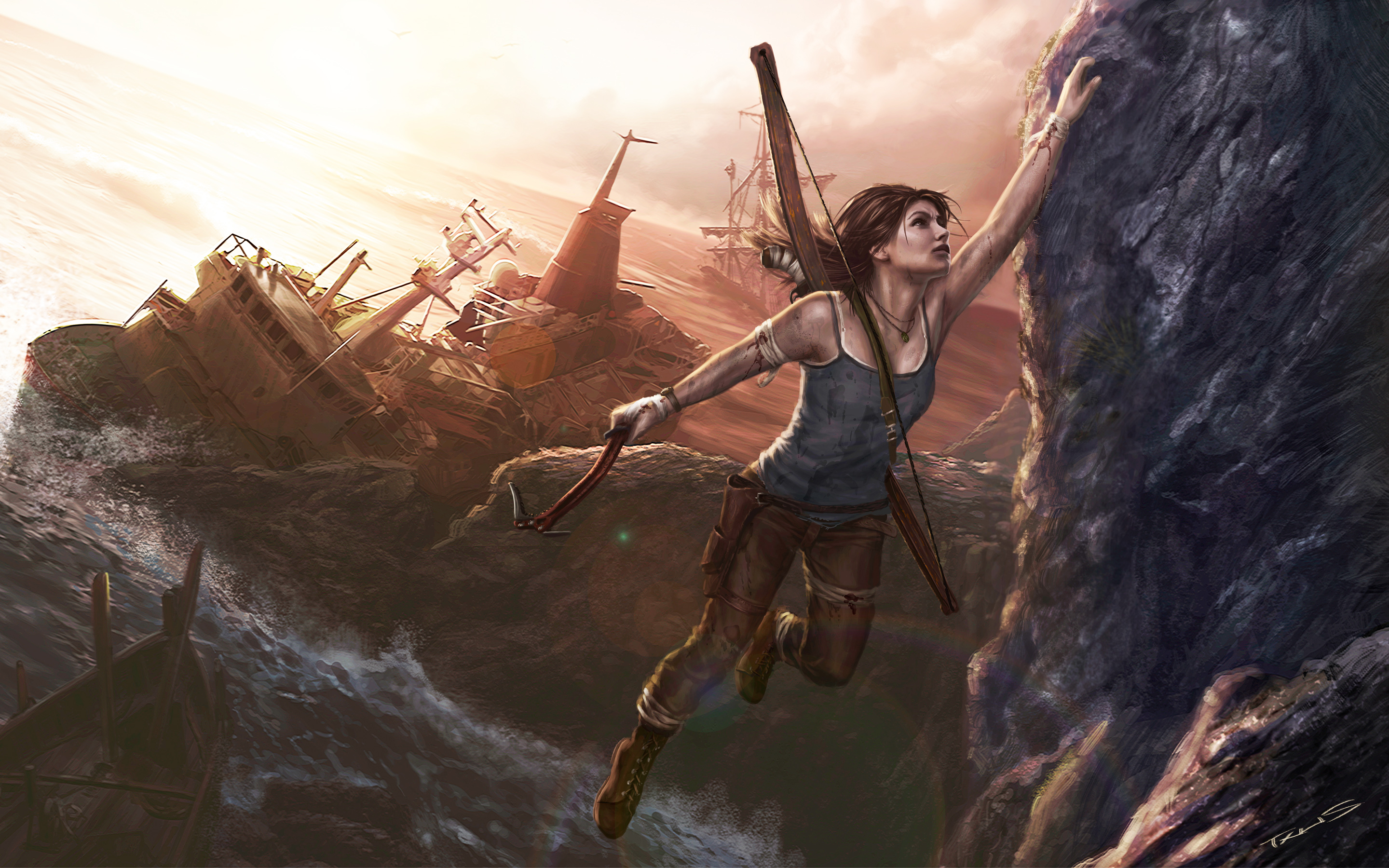 Lara Croft Art 468.61 Kb