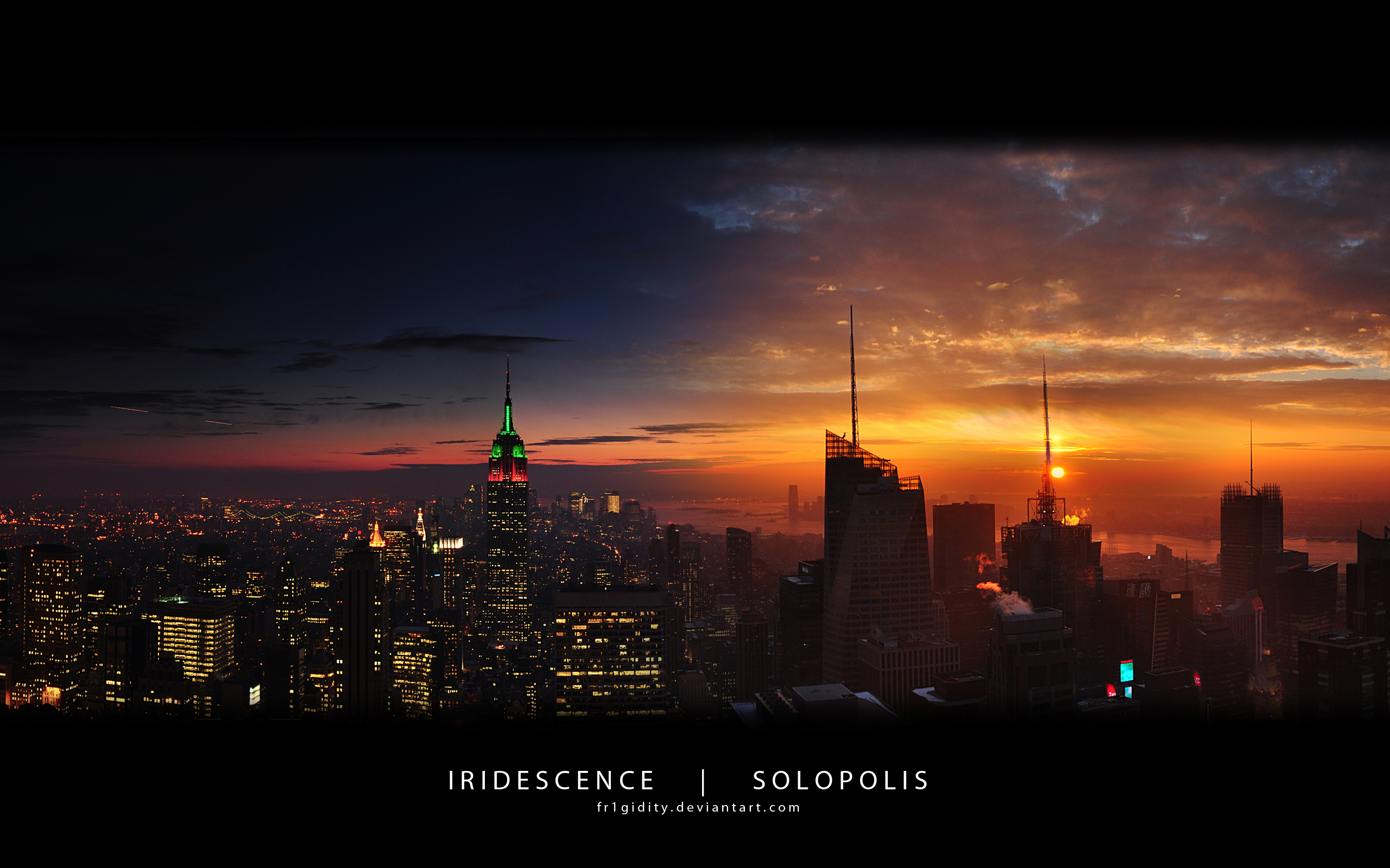 New York Empire State Panorama 1701.42 Kb