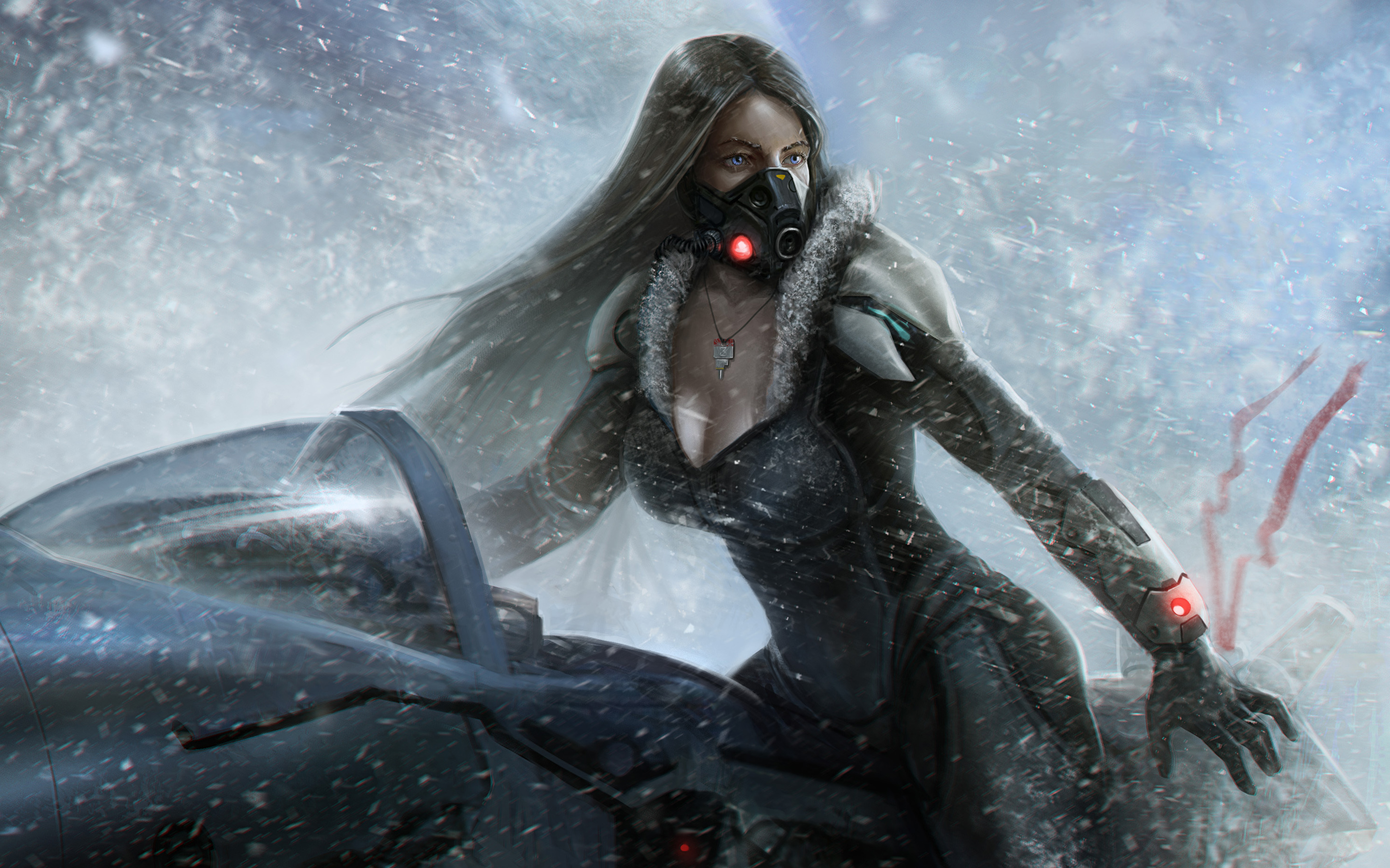 Lost Planet Snow Girl