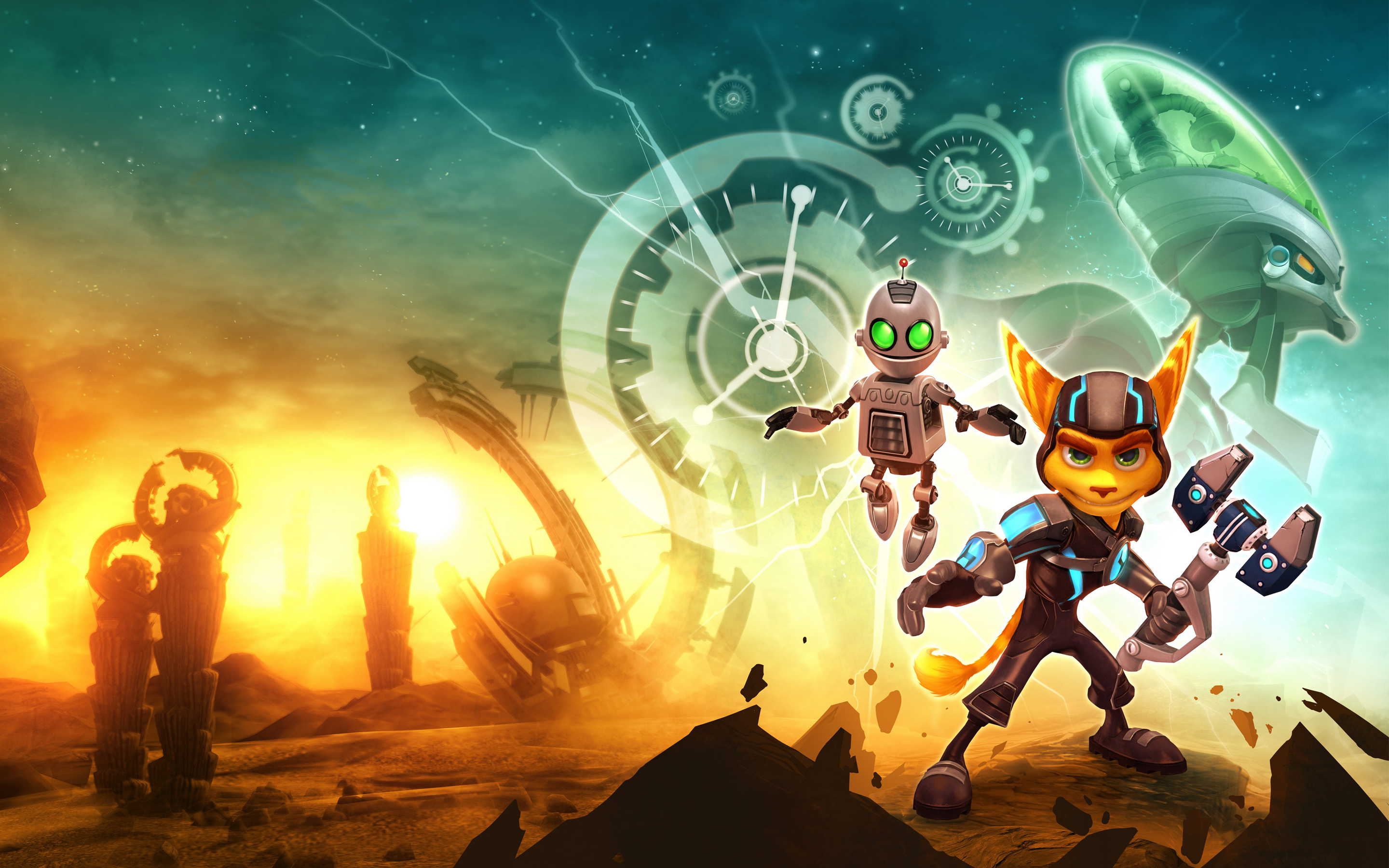 Ratchet & Clank Future A Crack in Time Game 1658.83 Kb