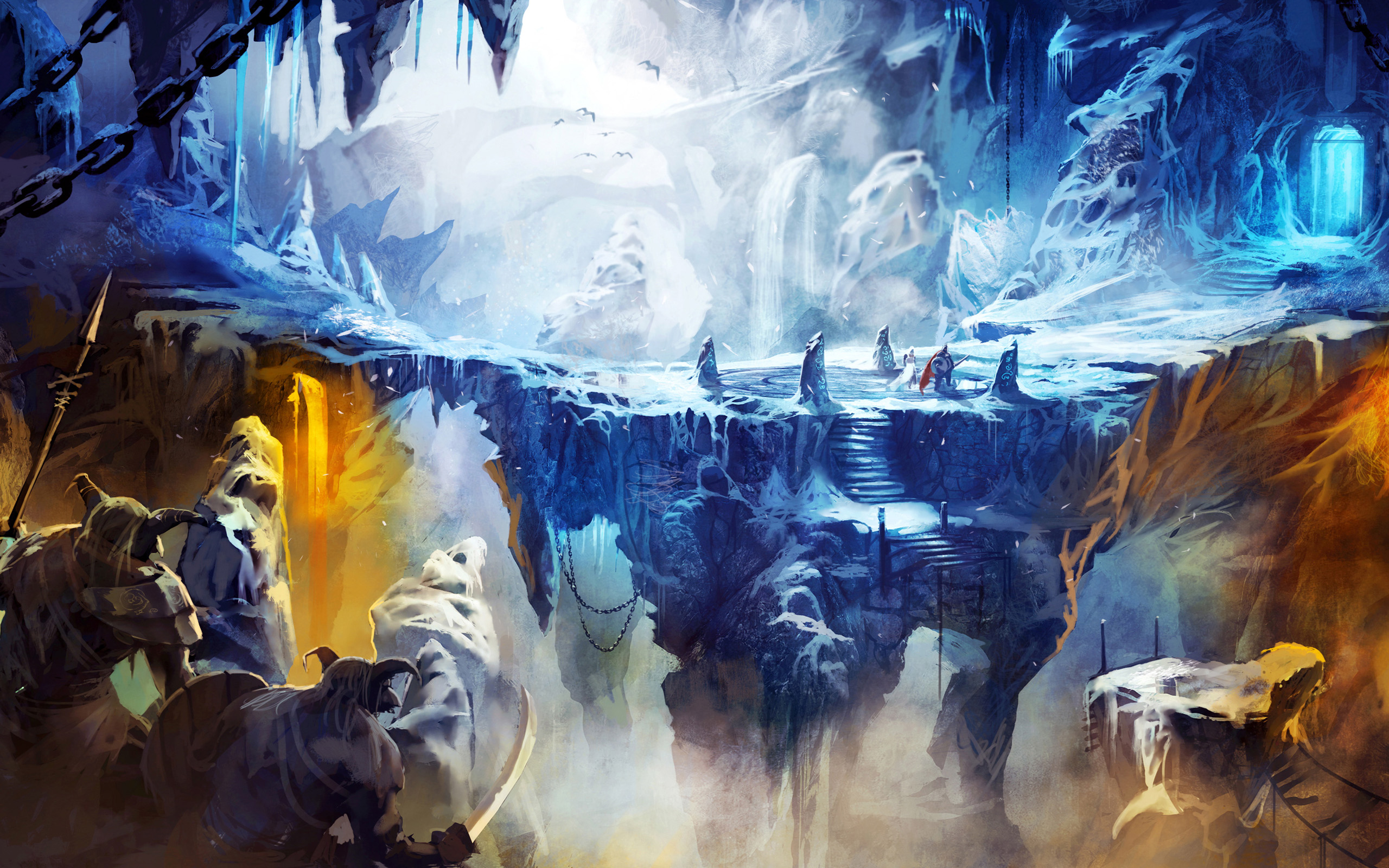 Frozen Cave in Trine 2 565.88 Kb