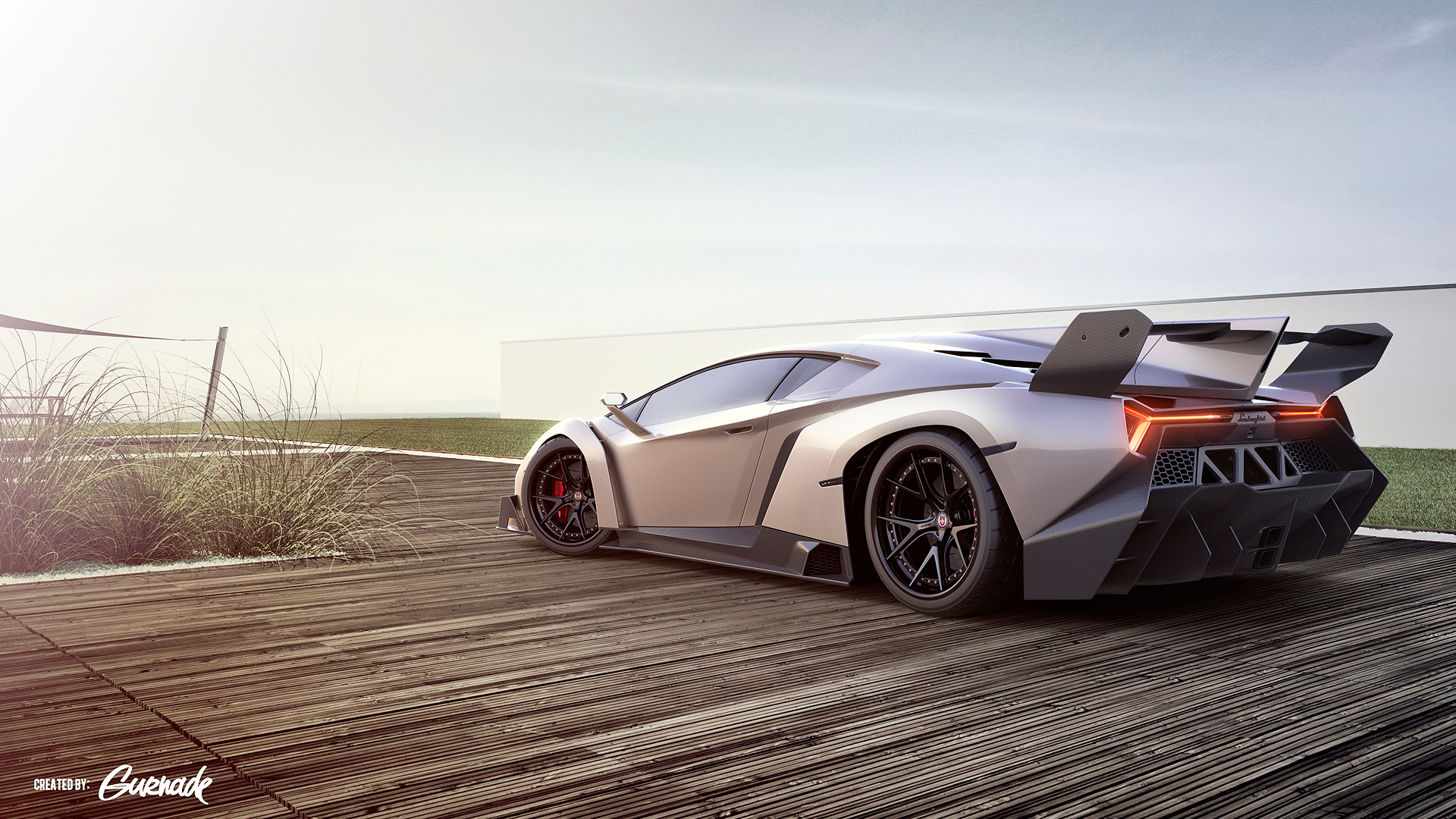 Lamborghini Veneno Sports Car 996.24 Kb